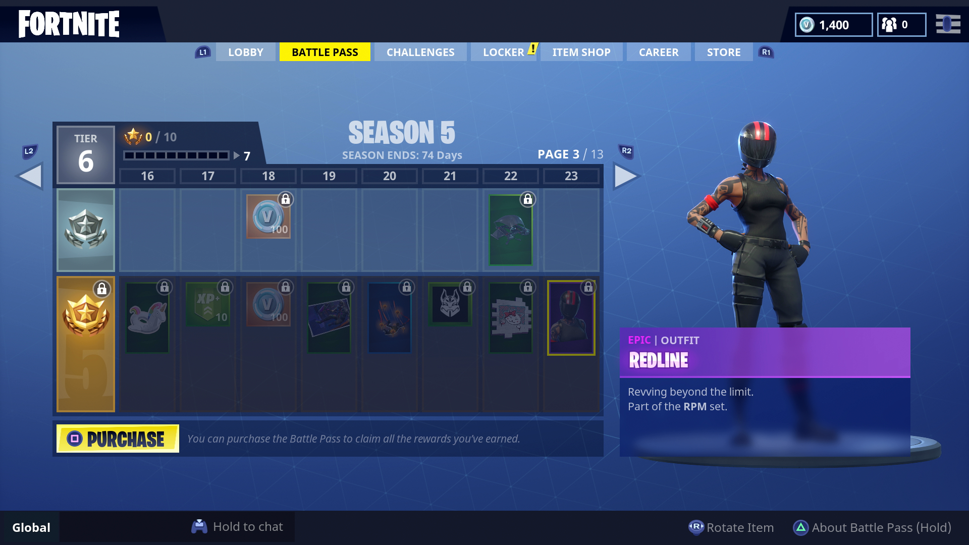 Fortnite Season 5 Skins All The New Battle Pass Skins