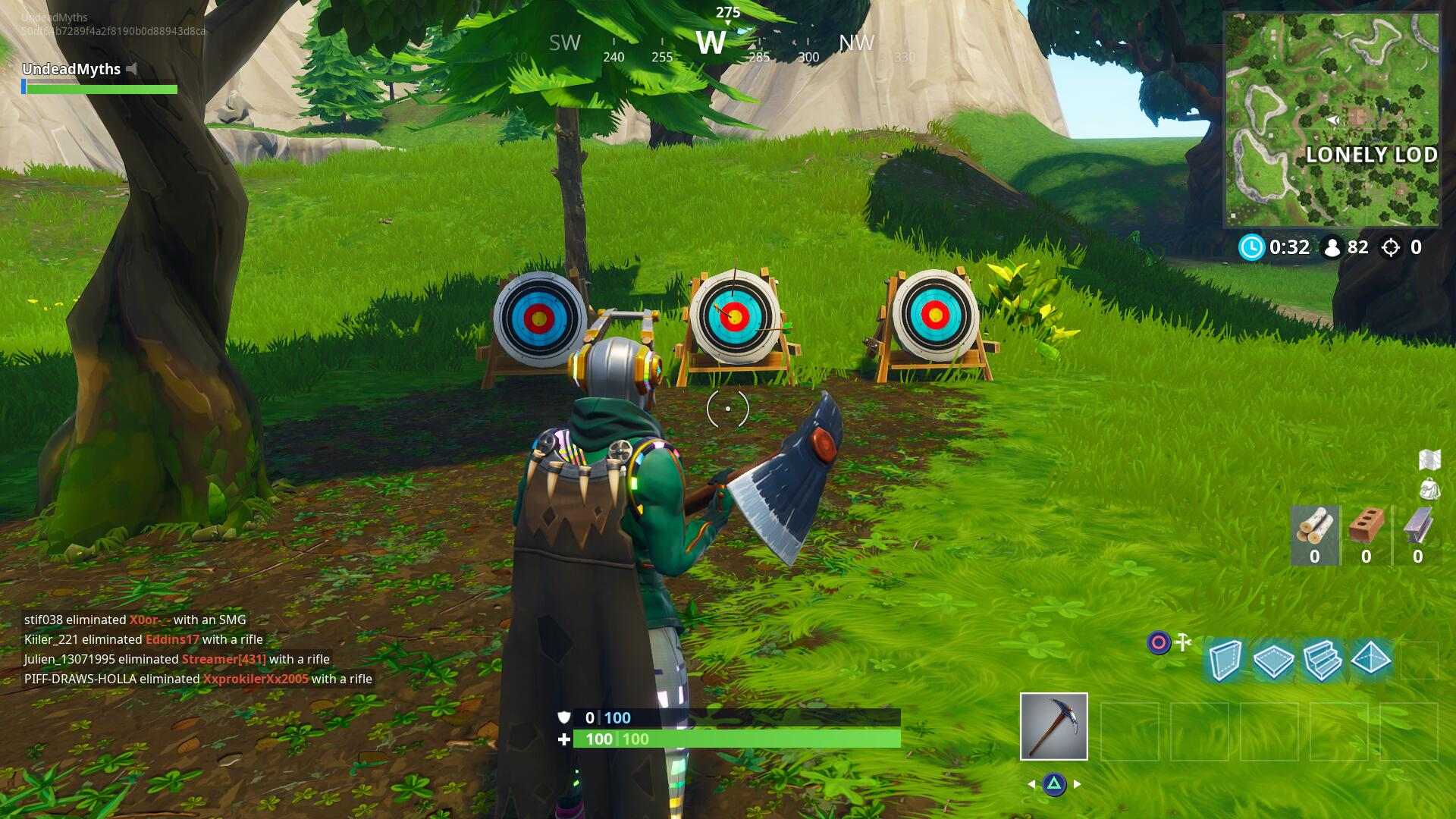 Fortnite Shooting Galleries Locations Usgamer