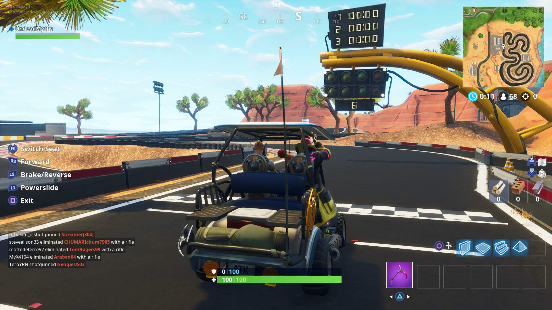 Fortnite Vehicle Timed Trials Guide and Locations