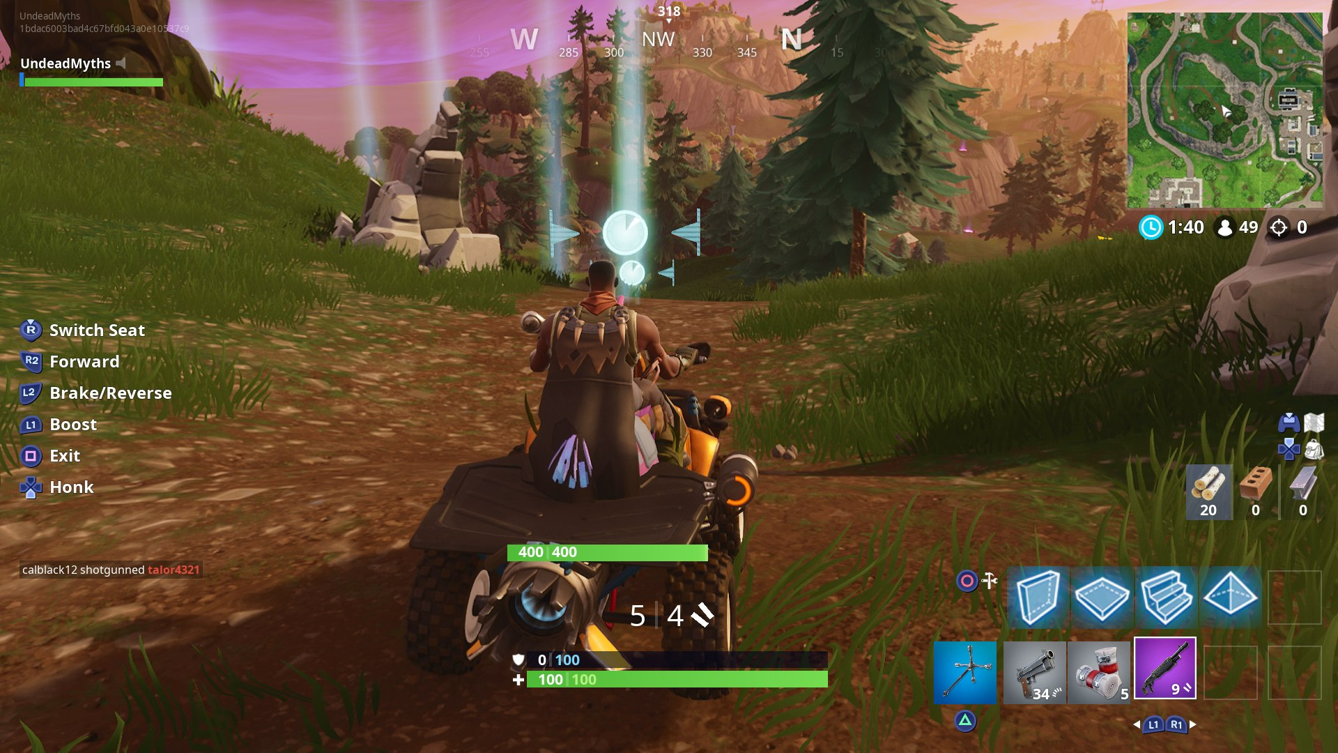 Fortnite Vehicle Timed Trials Guide And Locations Usgamer