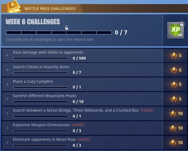 unlike previous weekly challenges for fortnite battle royale players this ambiguous challenge isn t actually a treasure hunt and so you don t firstly have - metal bridge three billboards crashed bus fortnite
