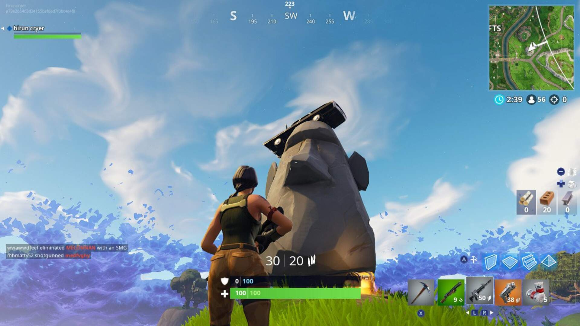 Fortnite Stone Heads Guide - Where the Stone Heads are Looking Fortnite Challenge - Hidden Star Location