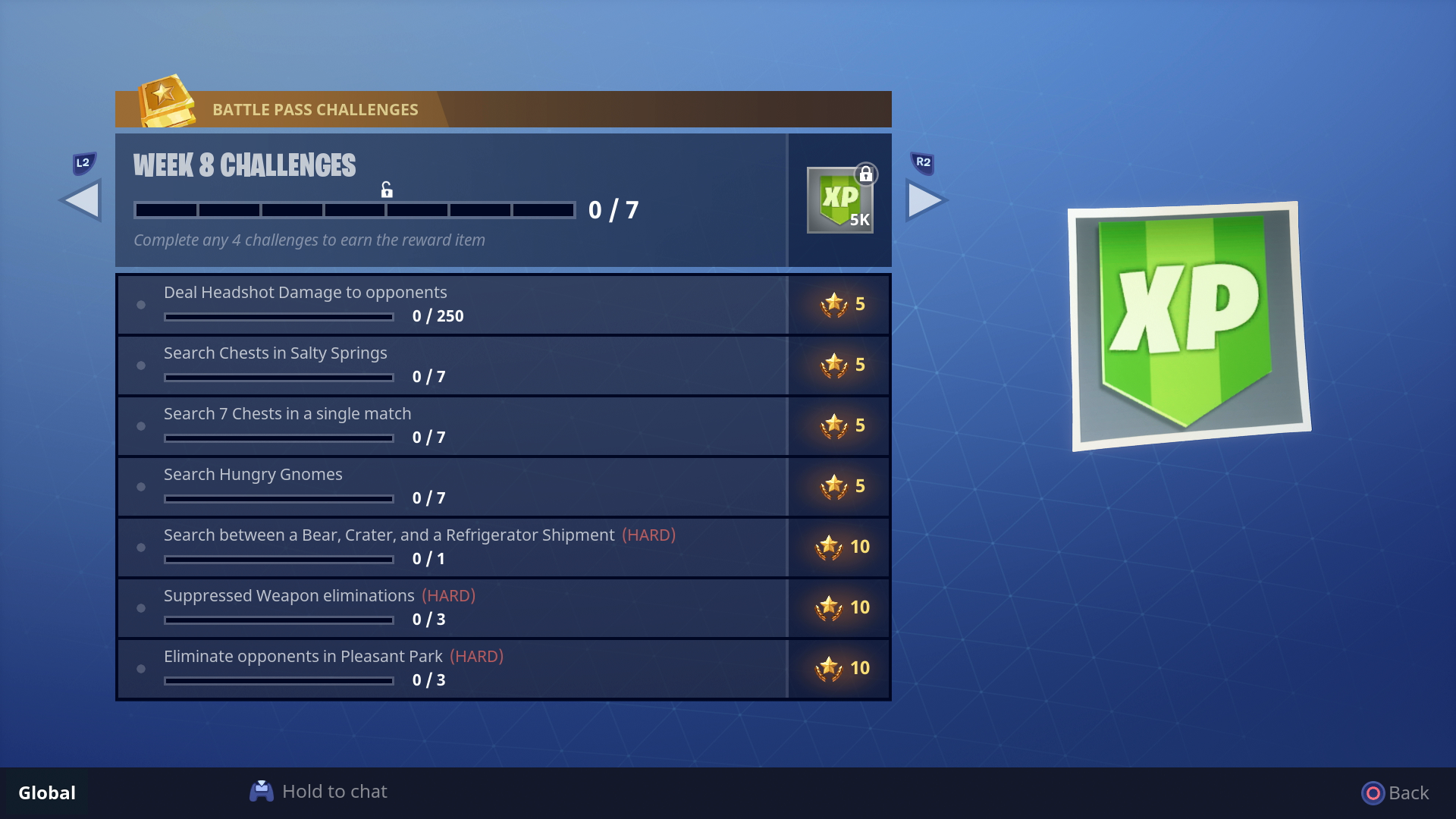 ... To Complete All Seven Challenges For The Week, So You Can Work Your Way  Closer To Both The Hidden Challenge And The Blockbuster Challenge For The  Week.