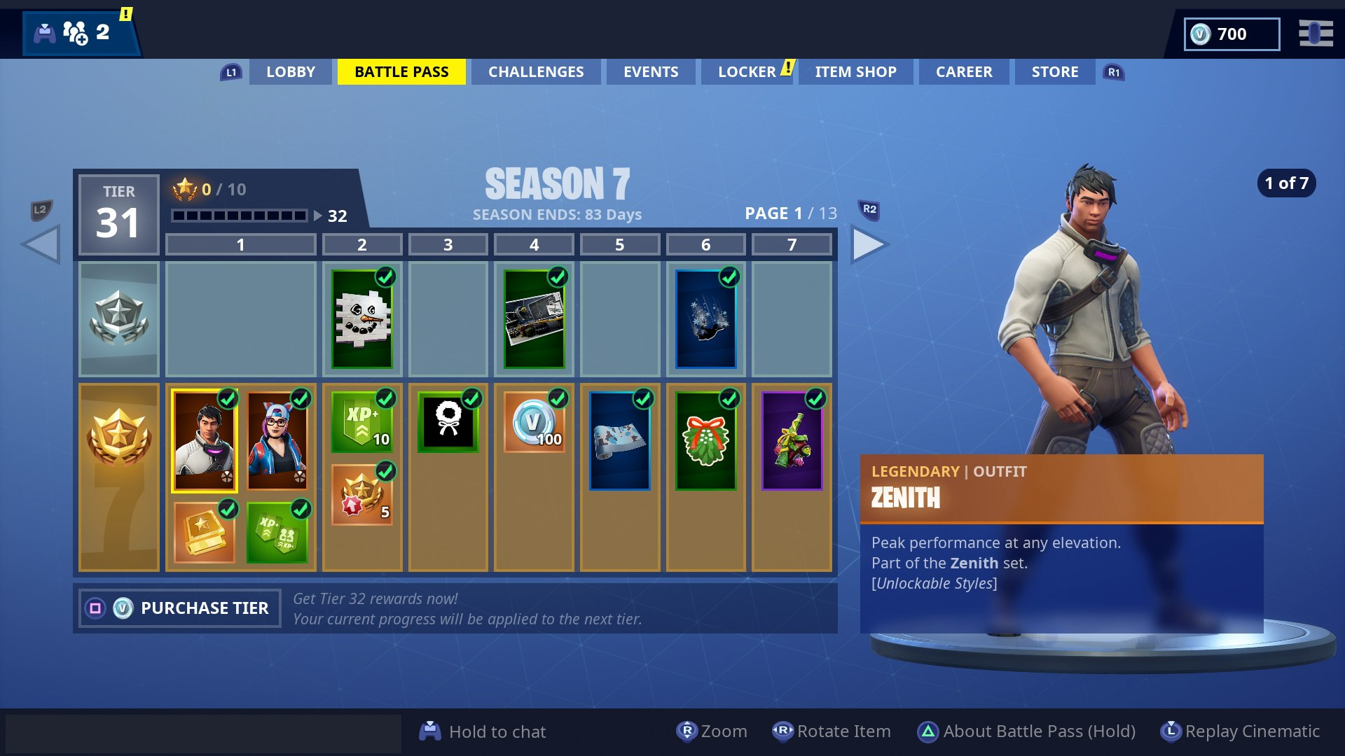 just below we ve listed out all the brand new skins that are available through the fortnite season 7 battle pass - fortnite list of all skins