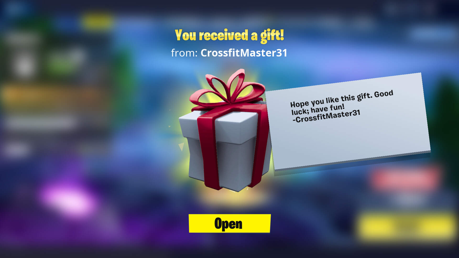 Fortnite Enables Gifting In Time for the Holidays, but Only for a Limited Time