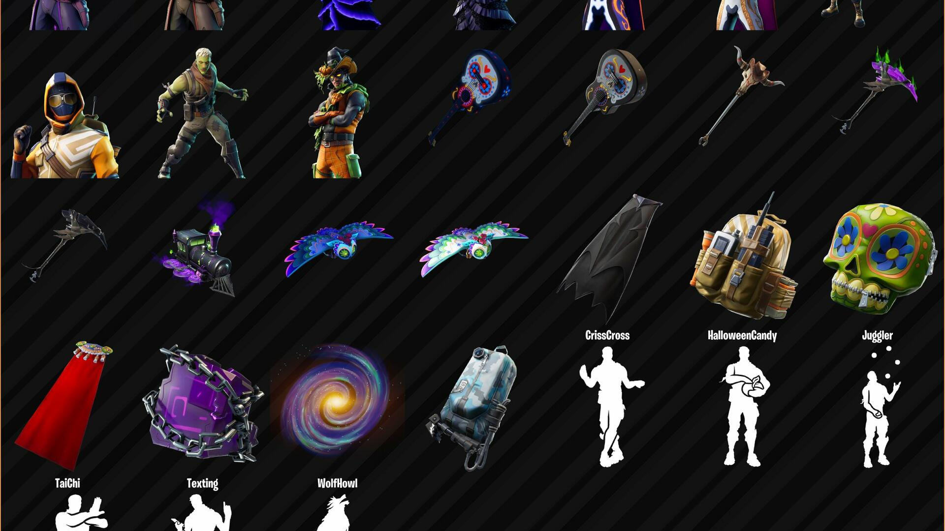 New Fortnite Skins Leaked After Fortnitemares Update