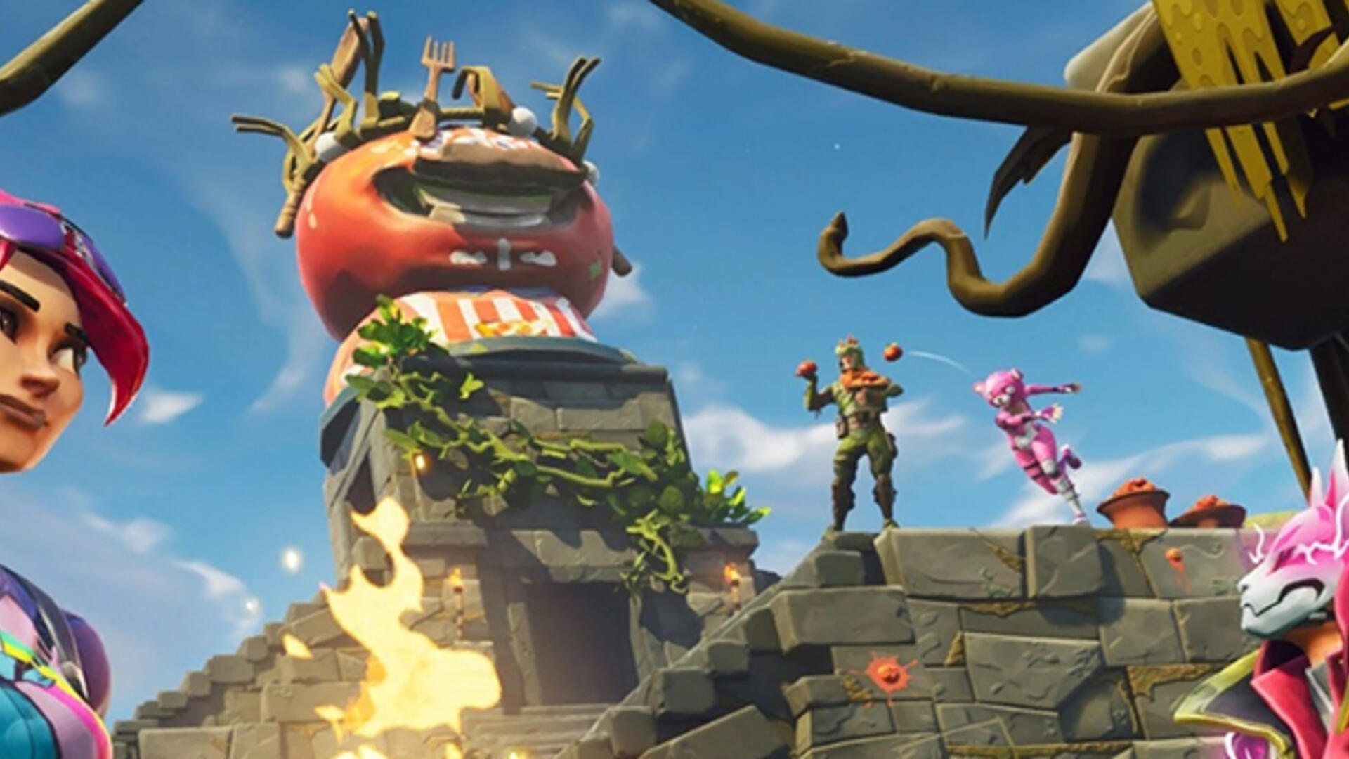 With Tomato Town Crushed, Fortnite's Ever-Shifting Map Continues to Embrace Mystery