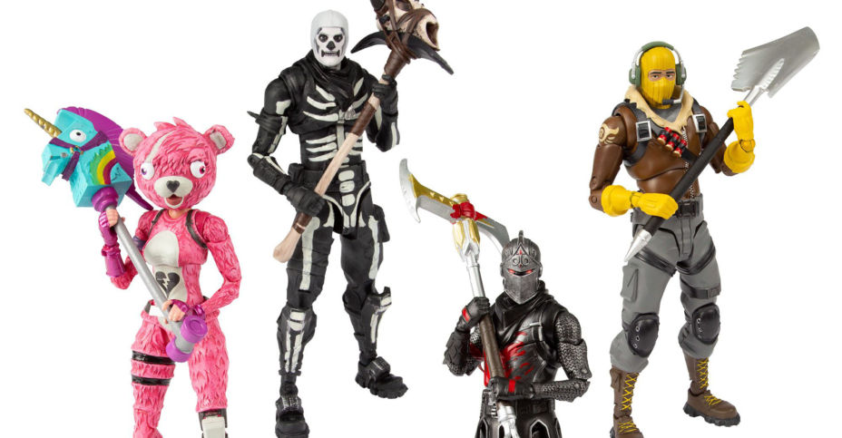 Fortnite Action Figures And Nerf Gun Jump To Top Of Kids