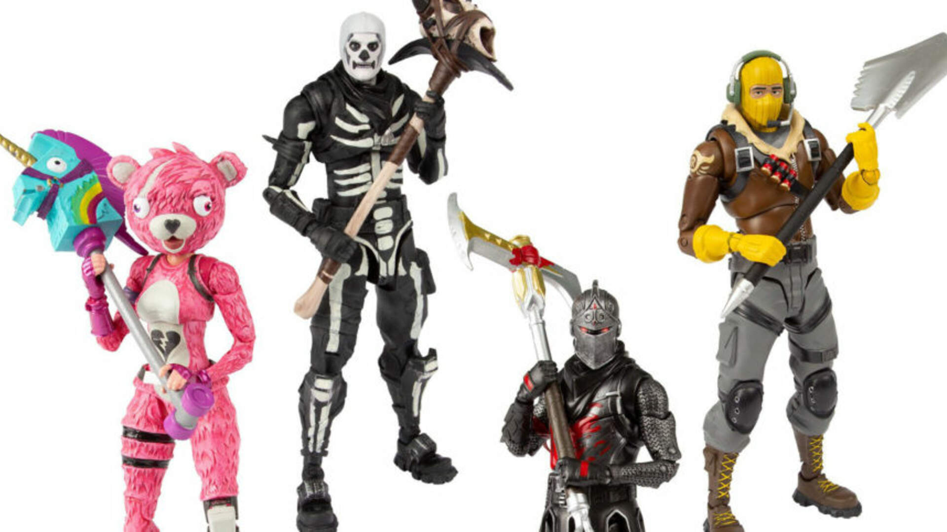 Fortnite Action Figures and Nerf Gun Jump to Top of Kids' Holiday Wishlist