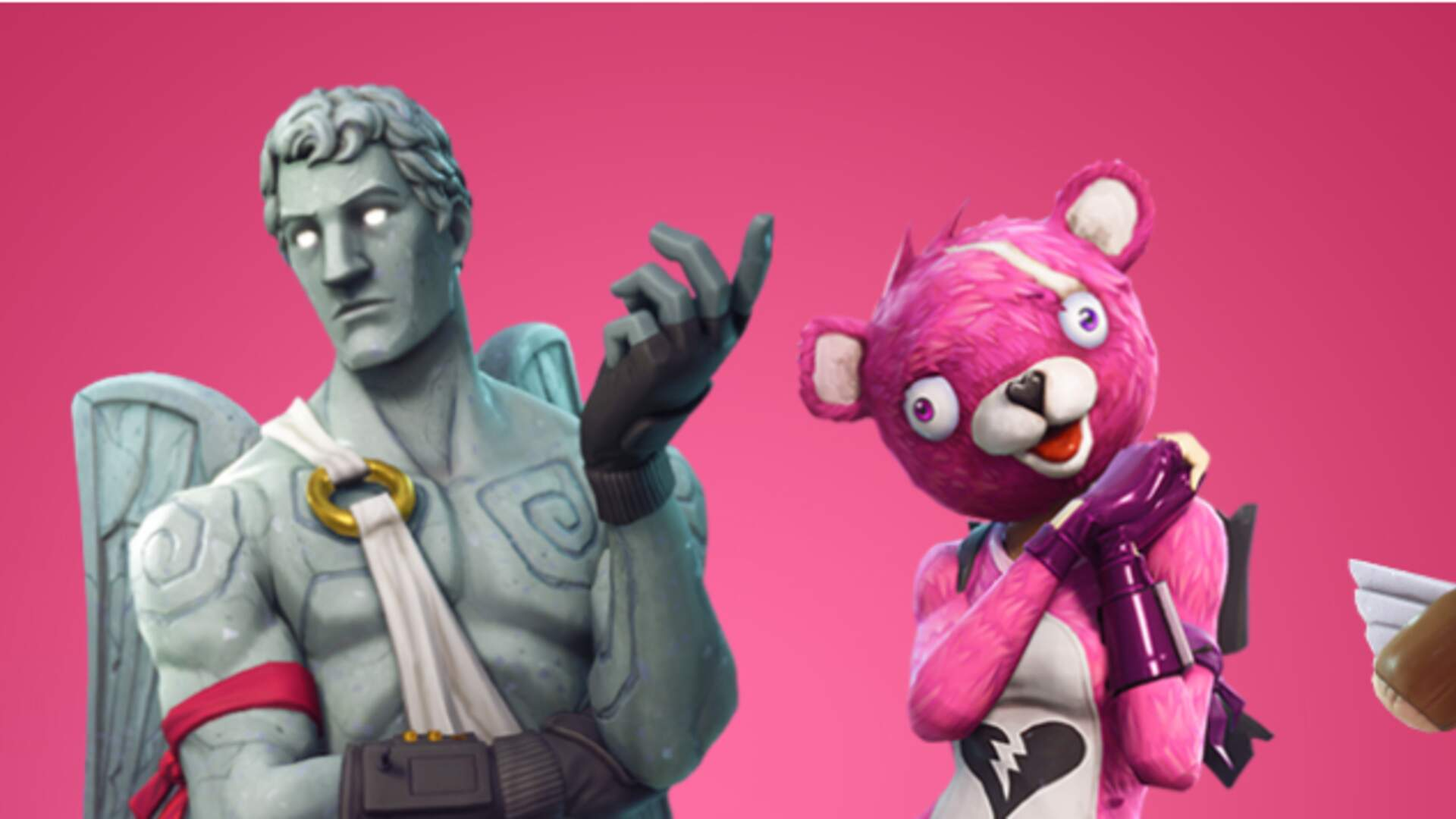 Fortnite Adds New Skins and Weapons for Valentine's Day