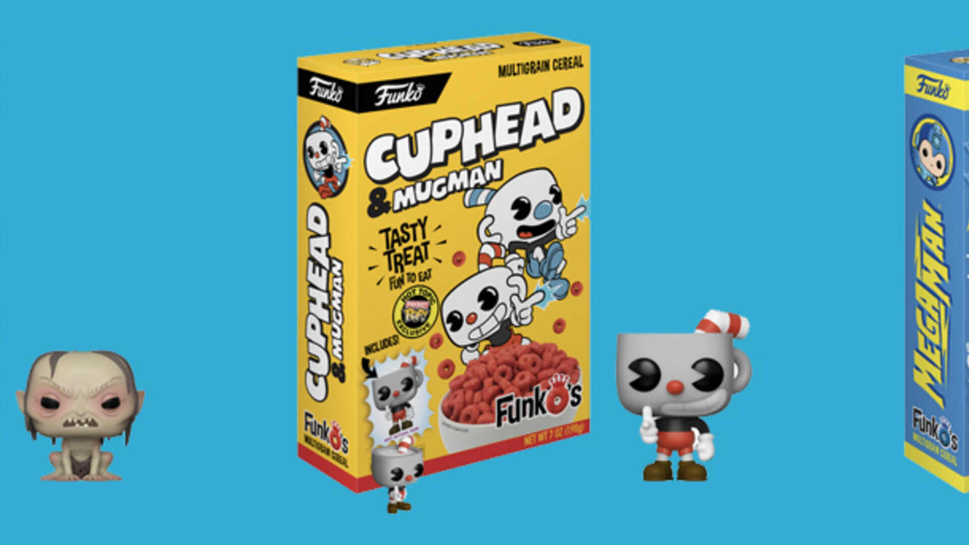 Mega Man and Cuphead Are Getting Their Own Cereals Courtesy of Funko Pop