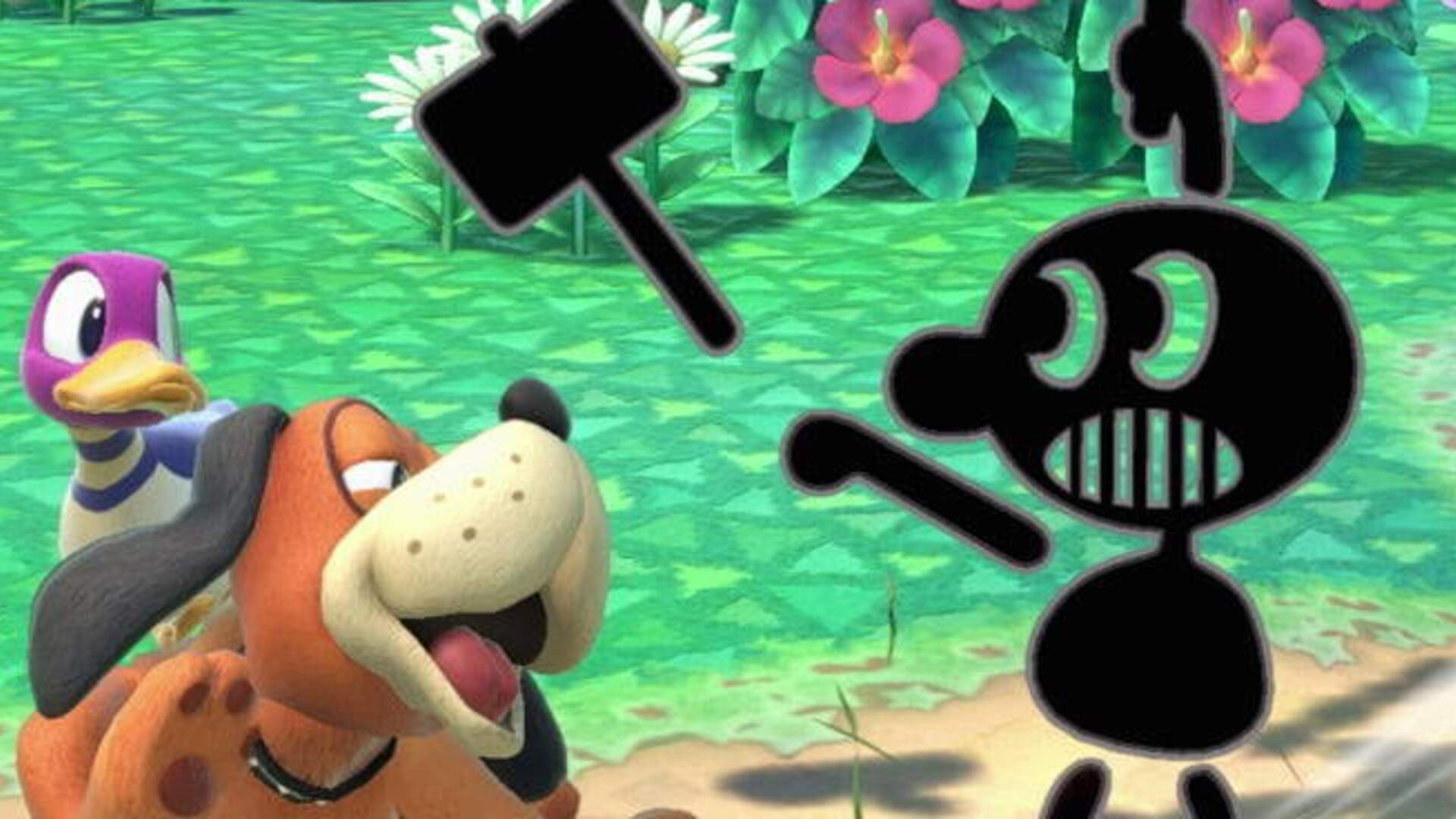 Smash Bros. Ultimate Dropping Racist Native American Game & Watch Image Following Outcry