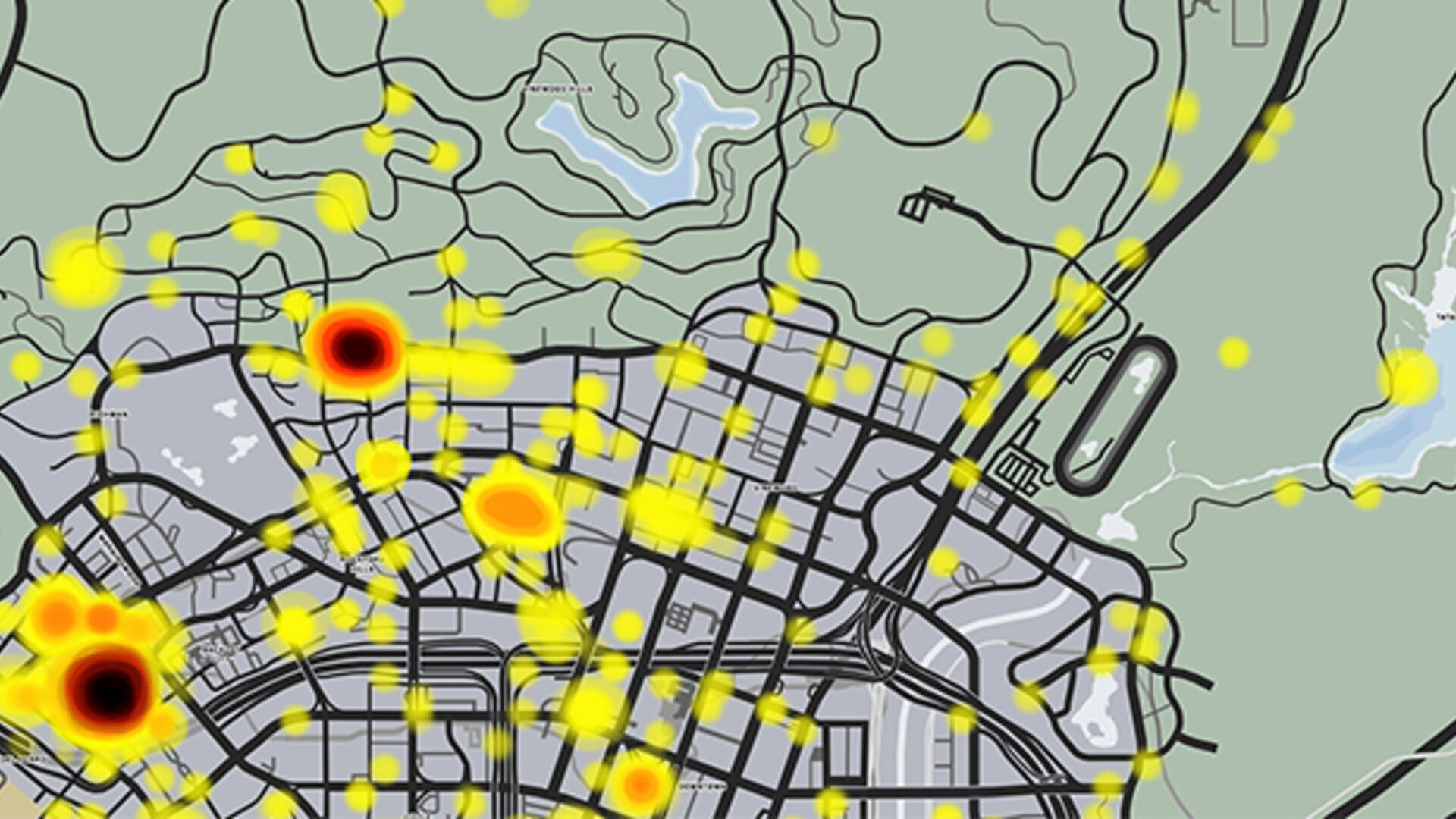 GTA Online Heatmap: Uncovering the Most Popular Locations