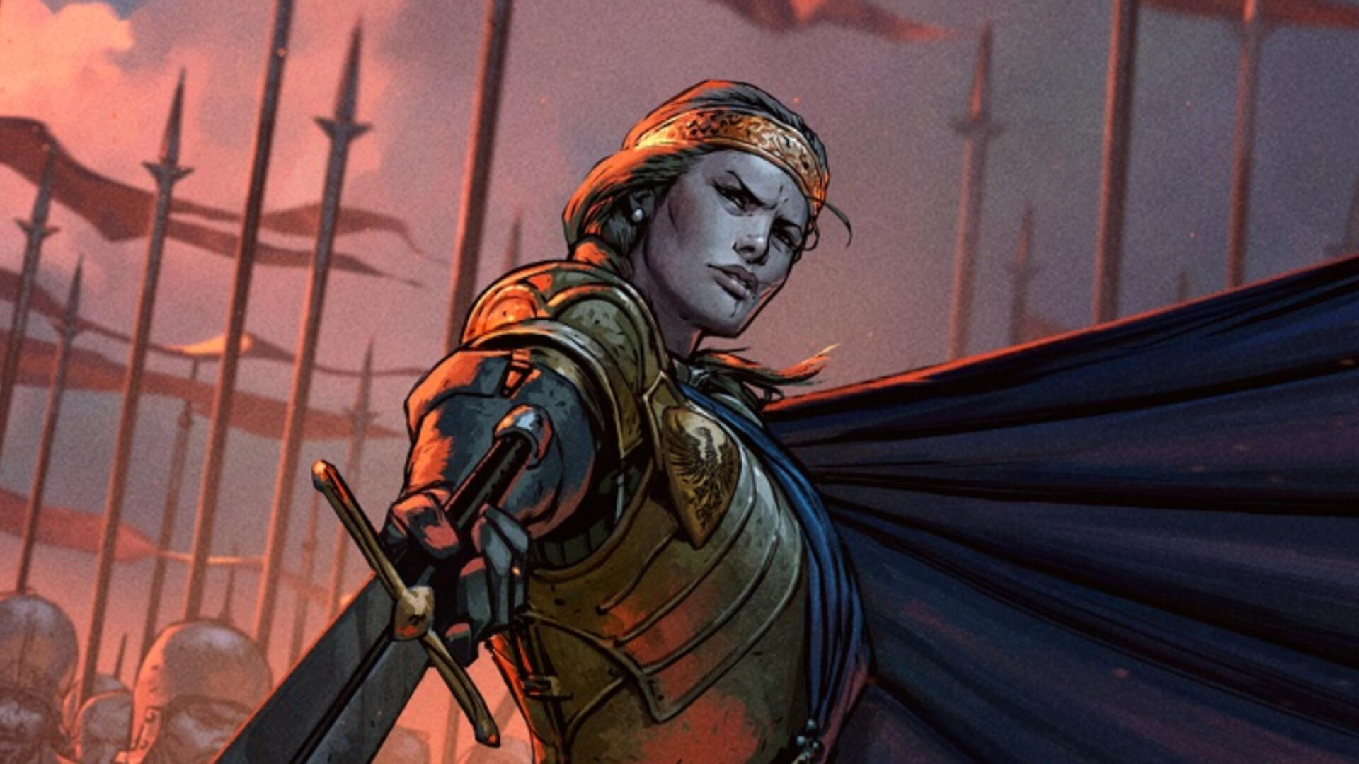 Gwent's Thronebreaker: The Witcher Tales Will Release Next Month