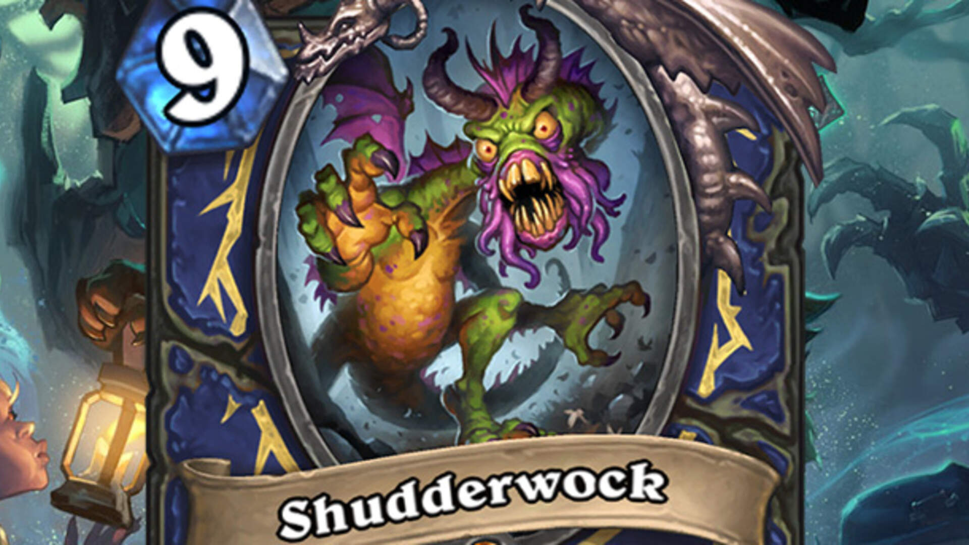 Witchwood's Newly-Revealed Shudderwock is Hearthstone's Most Complicated Card to Date