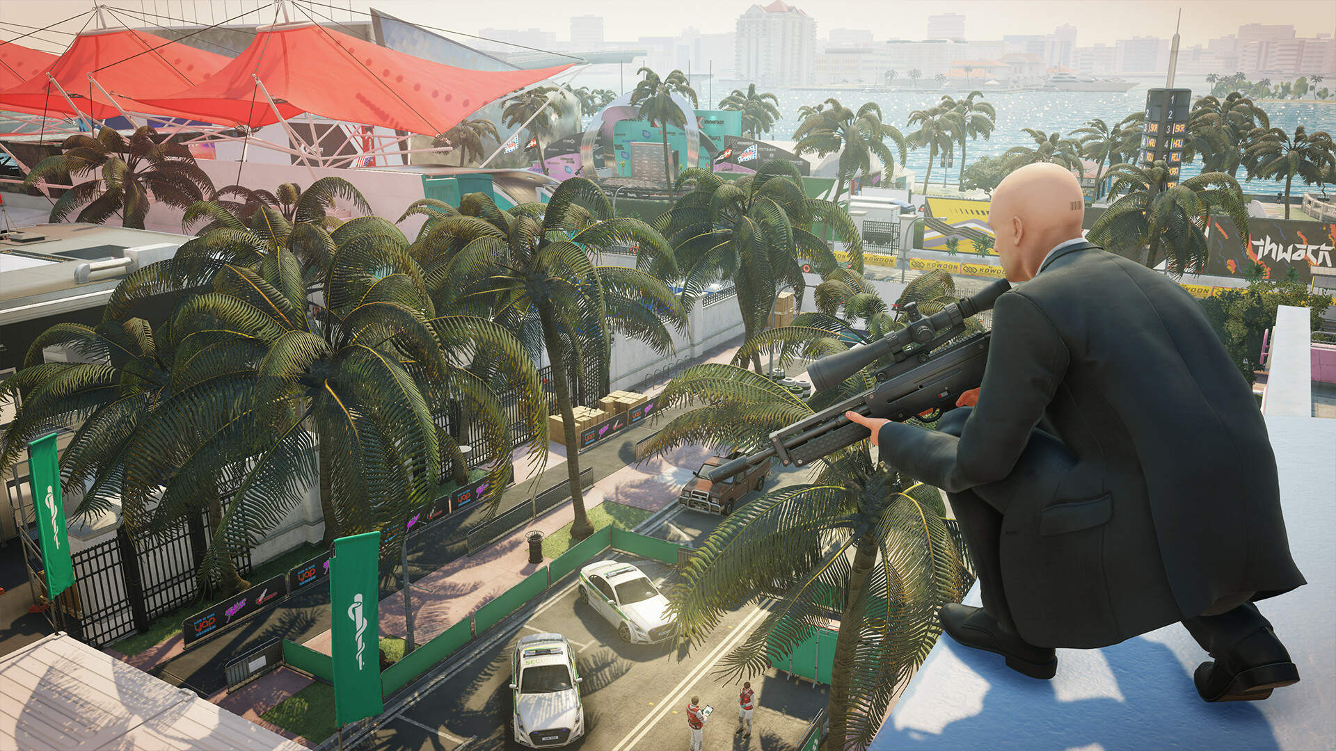 Hitman 2 Miami Walkthrough - The Finish Line Kills, Poison Locations, Miami Challenges