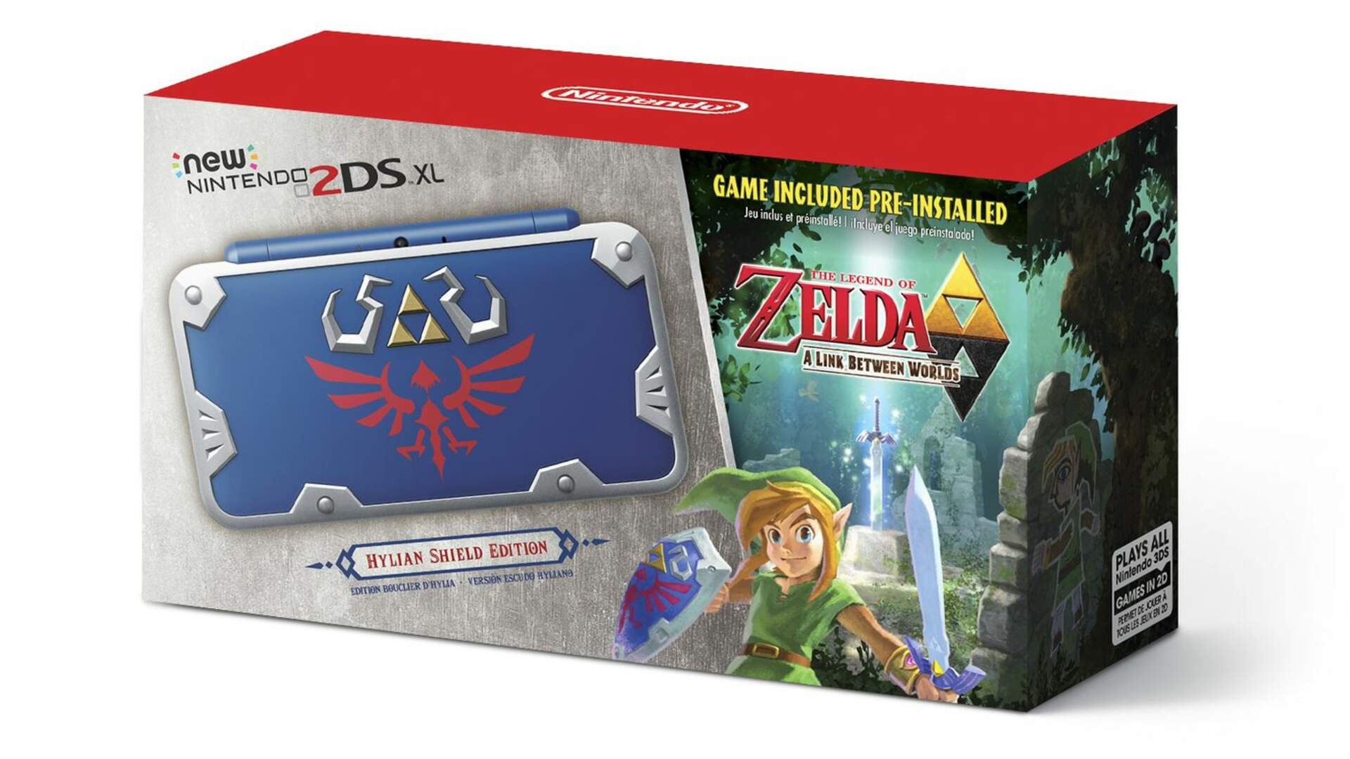 Nintendo is Releasing a Limited Edition 2DS With a Zelda Game Packed In