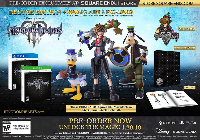 Kingdom Hearts 3 Special Editions Revealed, Don't Look Terra