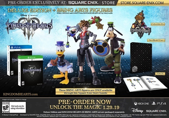 Kingdom Hearts 3 Worlds List, World Order, Characters, Review ...