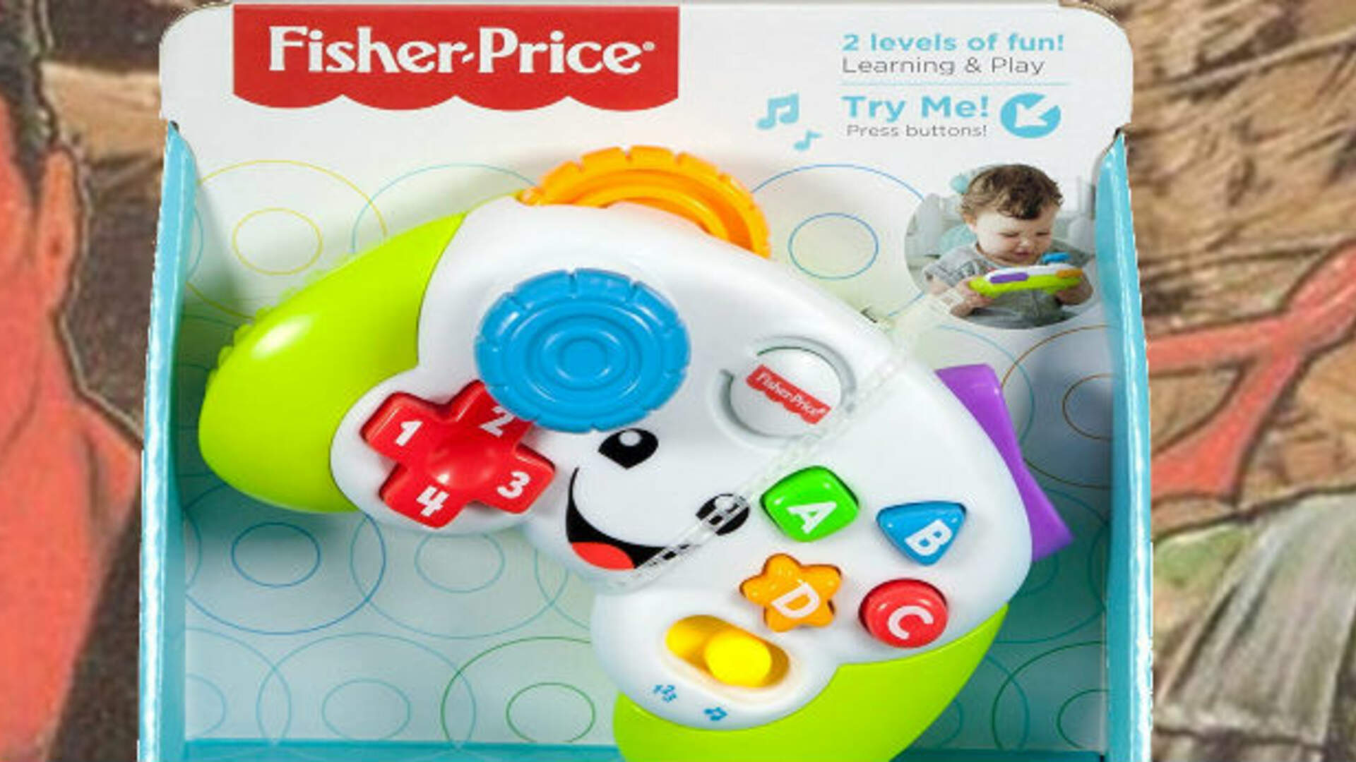 The Famed Konami Code from Contra Works on a New Fisher Price Toy
