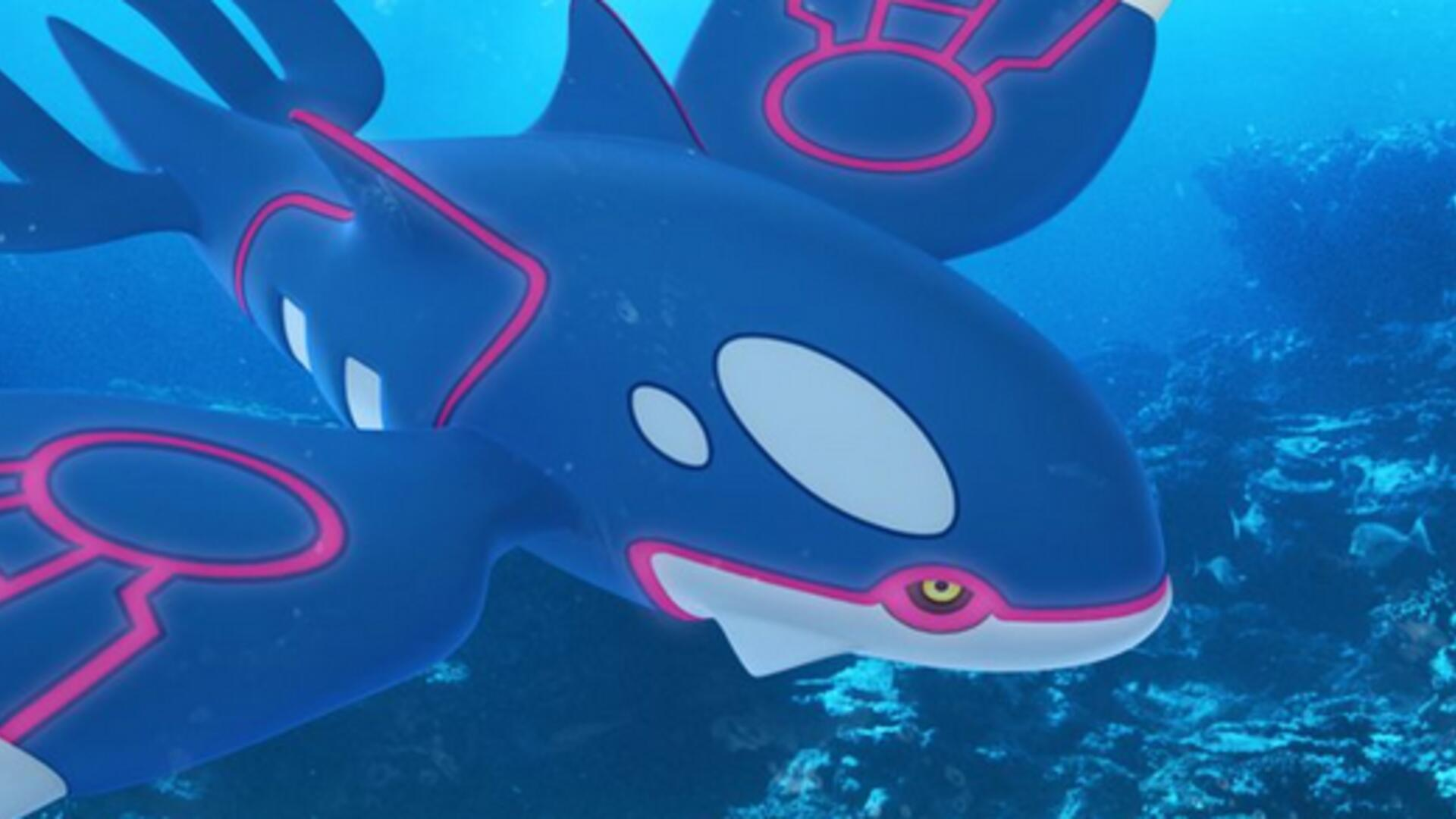 Kyogre is Finally Available in Pokemon Go