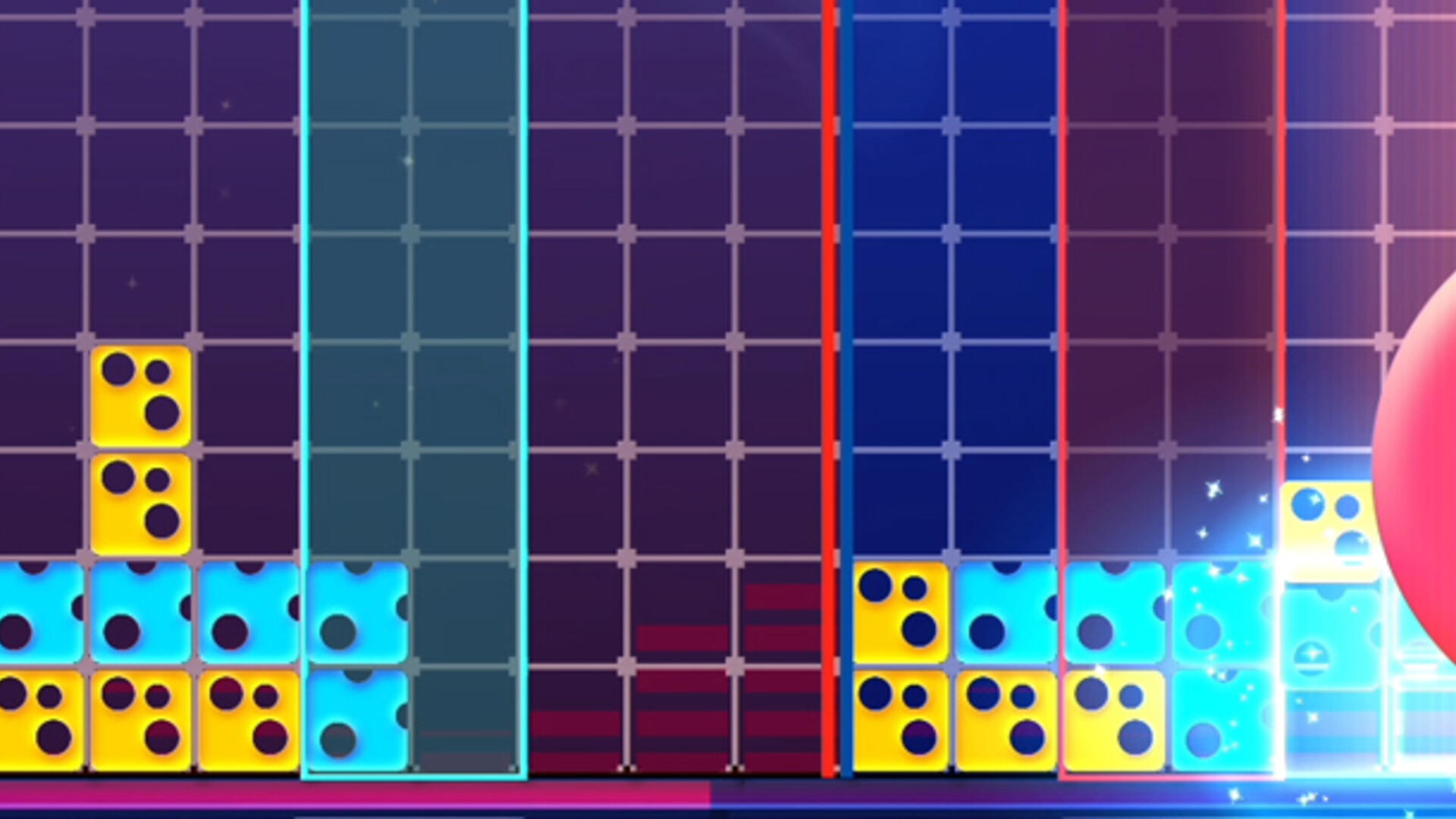 Lumines Remastered's HD Rumble Needs to Chill Out