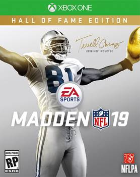 Madden 19 jaquette lageekroom