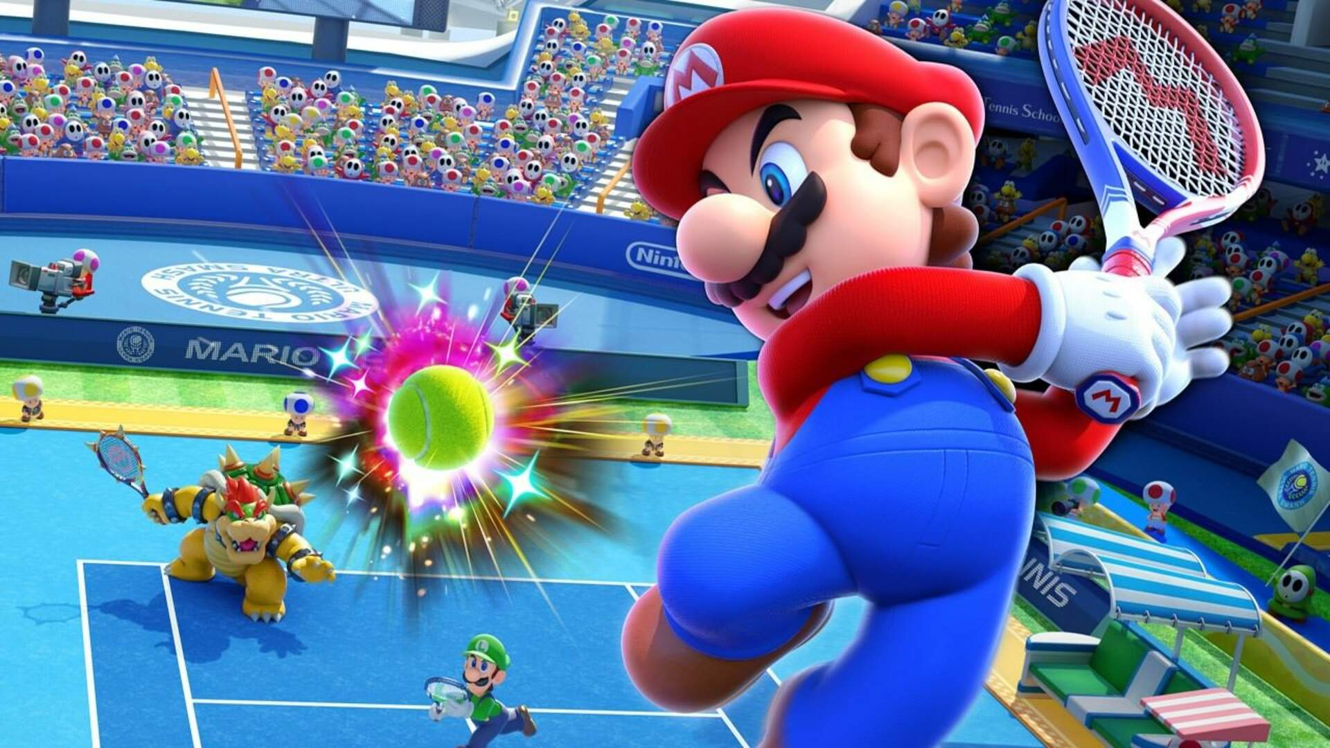 Mario Tennis Charity Tournament Recruits Celebrities Including Seal and the Williams Sisters