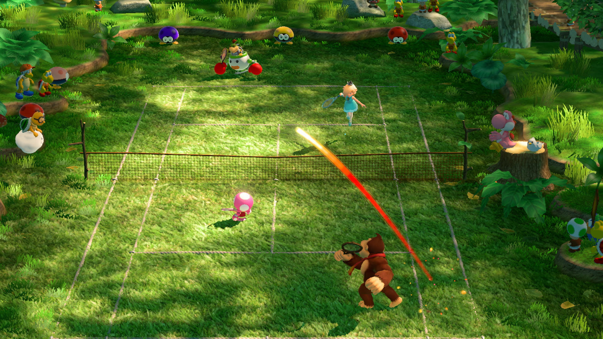Test Mario Tennis Aces Switch Lageekroom