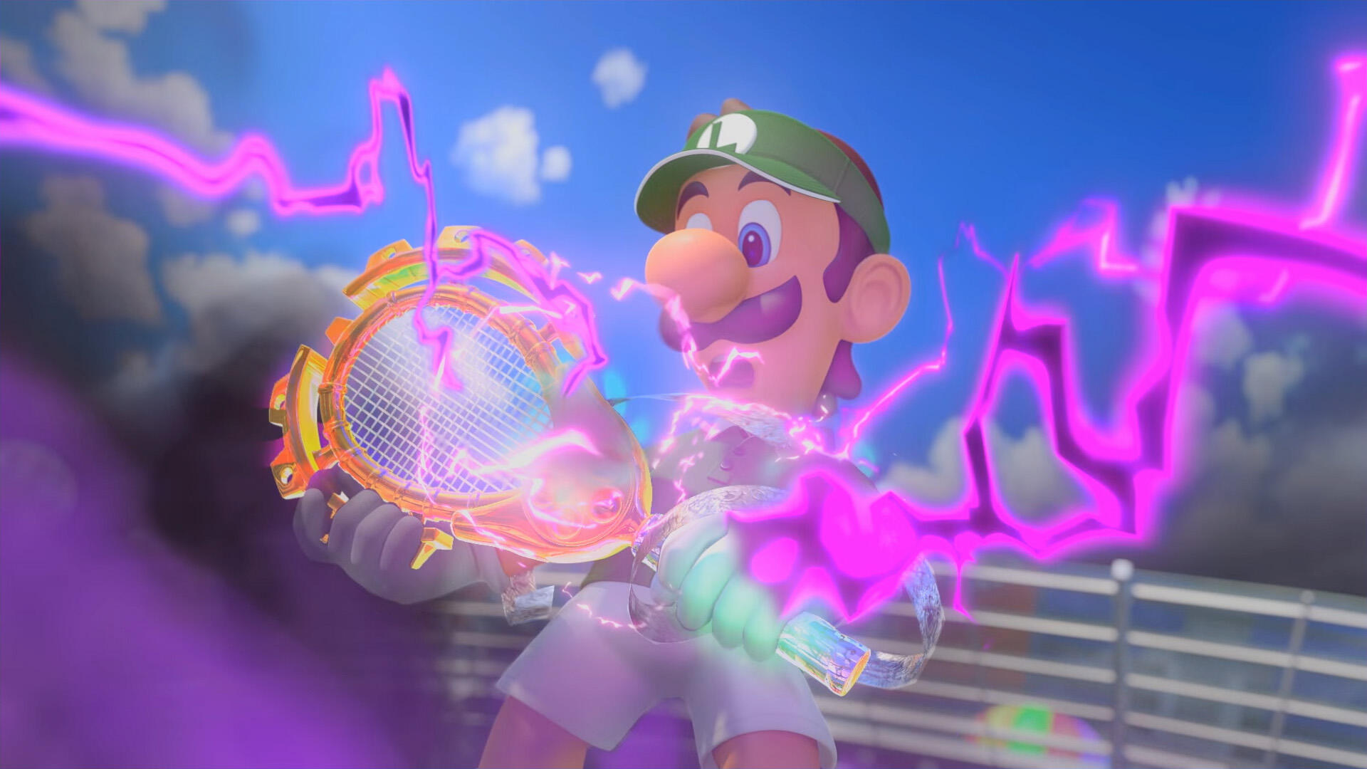 Mario Tennis Aces 3.0 Update Gives the Satanic Tennis Racquet an Origin Story