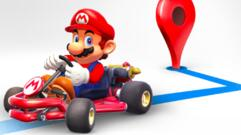 Mario Will Guide you in the Google Maps App for Mario Day