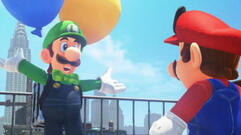 Super Mario Odyssey's New Content Lets You Freak Out Luigi