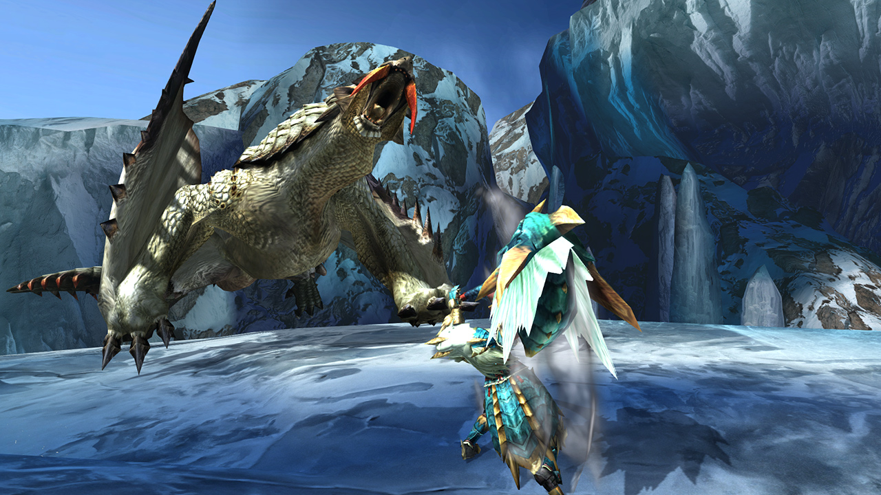 Monster Hunter Generations Ultimate on Switch is the Polar