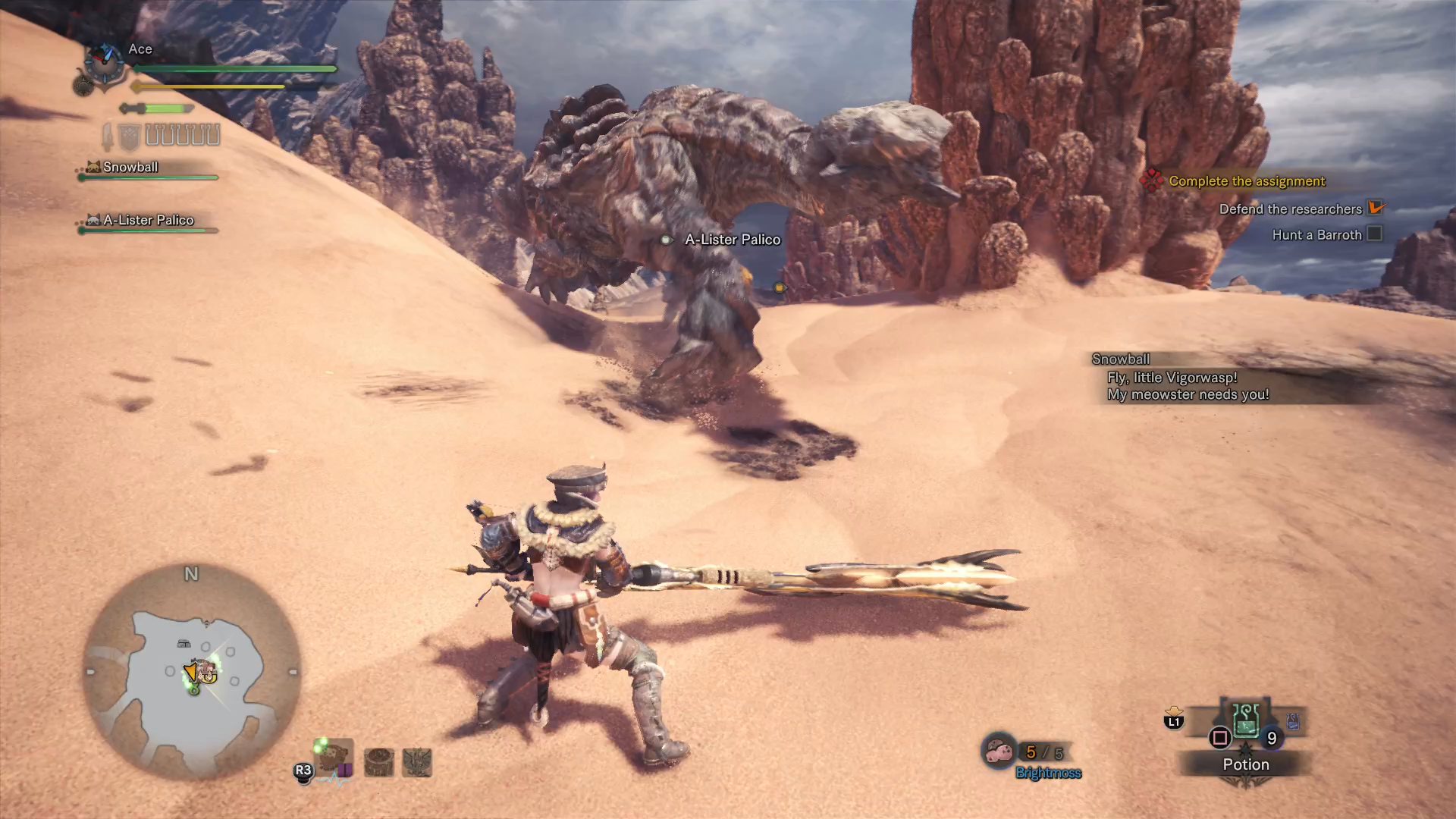 Monster hunter world street fighter 5 collaboration guide event this down the dark muddy path quest takes place in the arena and youll find yourself going up against the intimidating barroth solutioingenieria Image collections