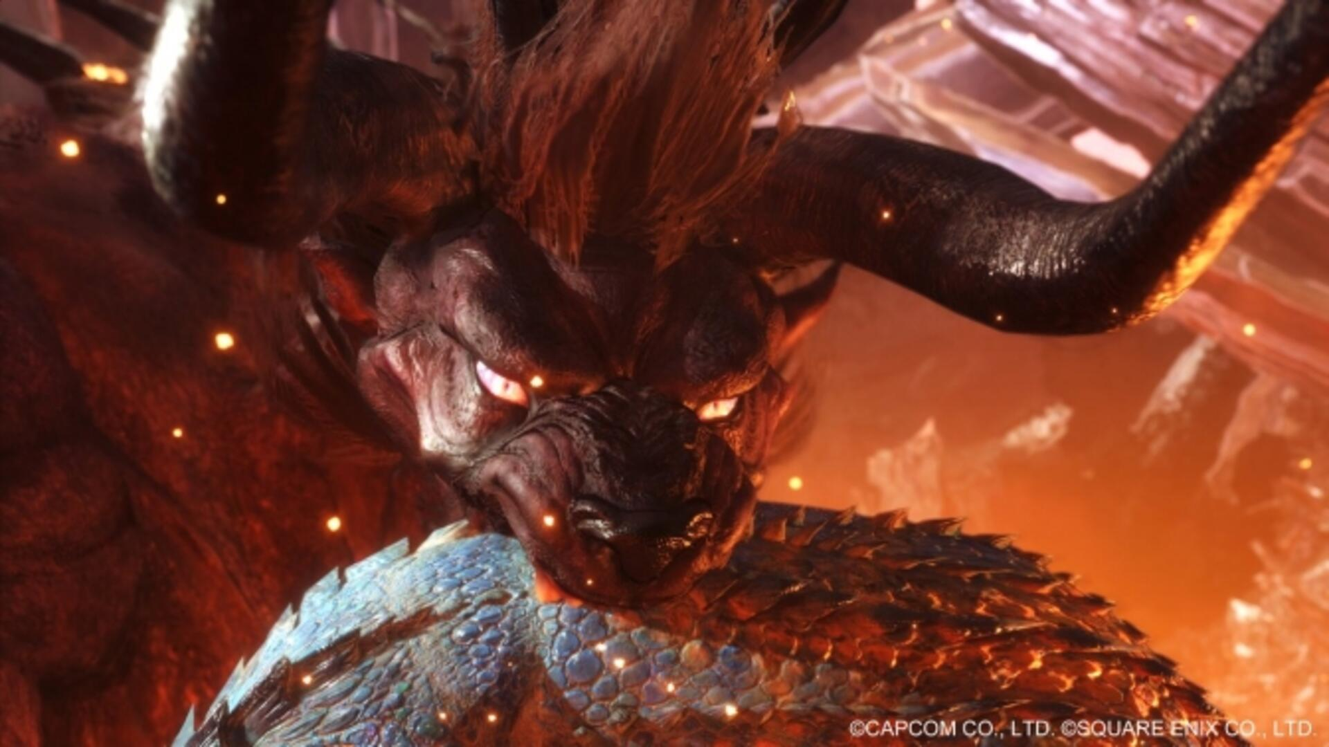 Monster Hunter World Getting New Final Fantasy Behemoth Collaboration Quest