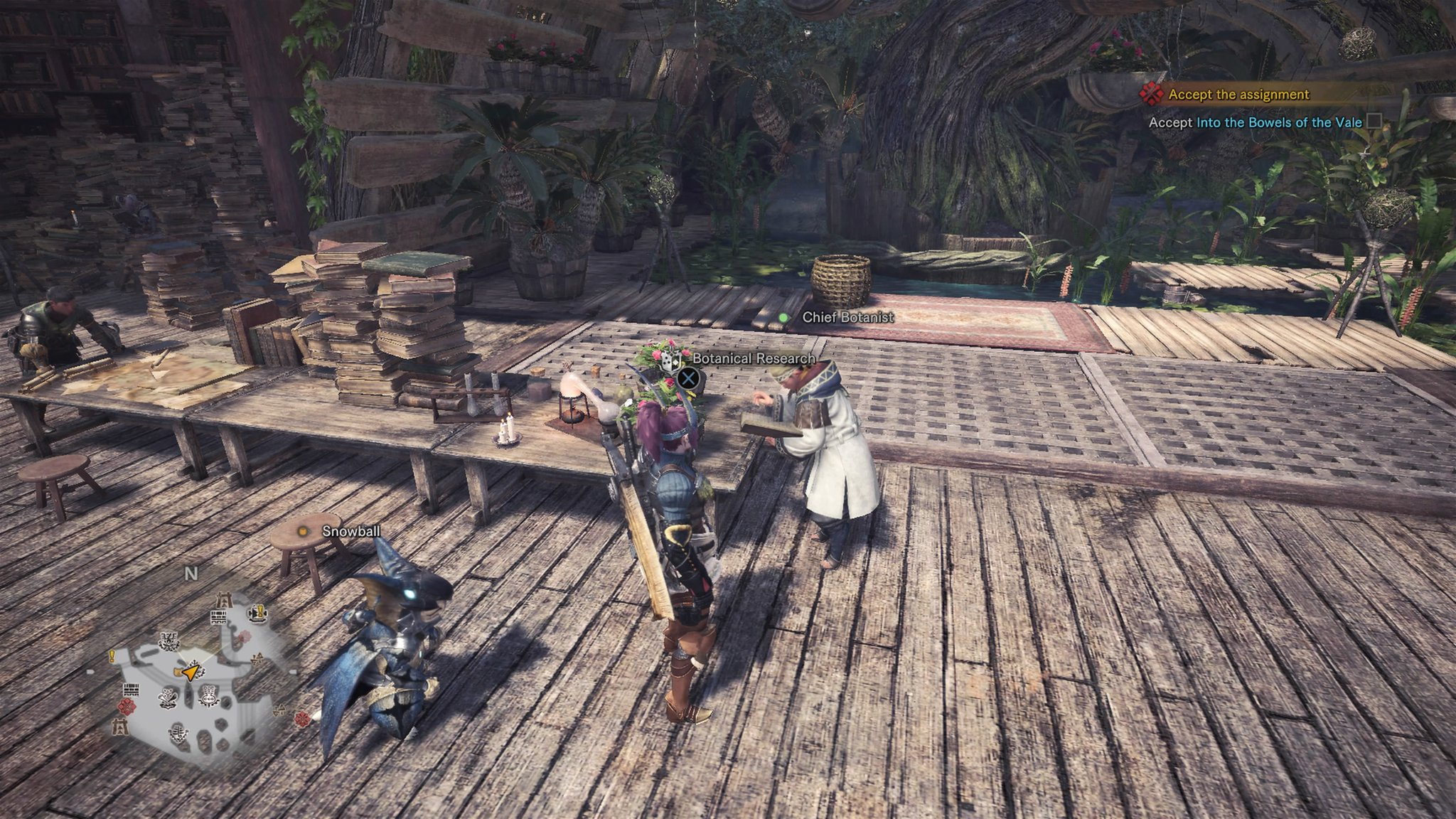 Monster hunter world botanical research center guide how to farm go and see the character and the botanical research center will now be available for use what is the botanical research center solutioingenieria Image collections