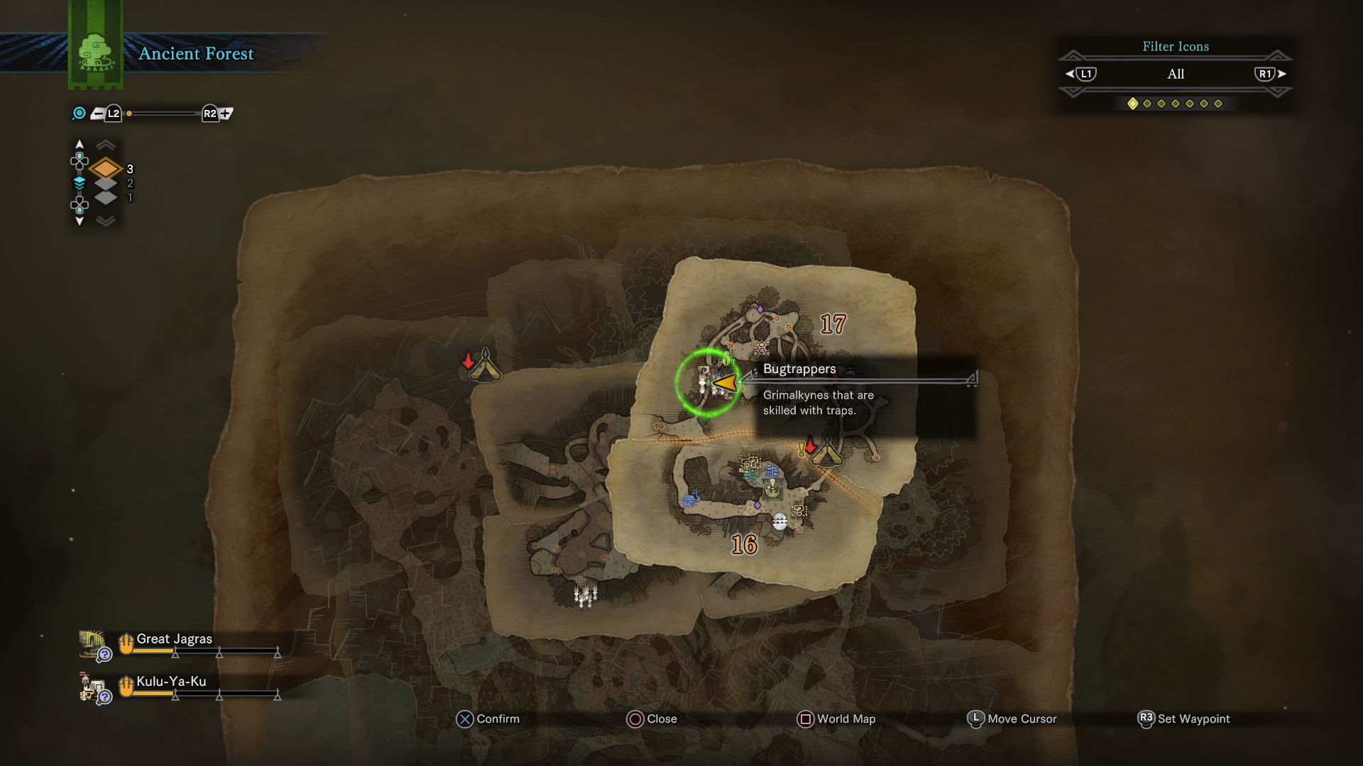 Monster hunter world grimalkyne guide how to complete the ancient the plunderblade is eventually rewarded to you by the palico tribe in the rotten vale and can help you score some incredibly rare items from monsters after solutioingenieria Image collections