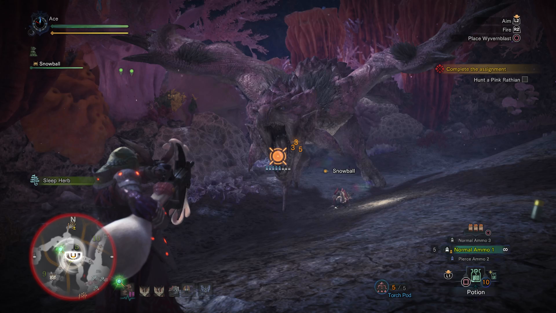 Monster Hunter World Pink Rathian - How to Track and Kill