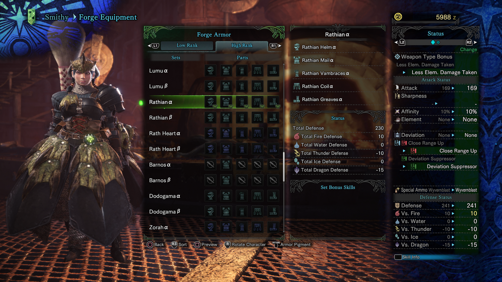 monster hunter world builds best armor sets for each weapon in mhw