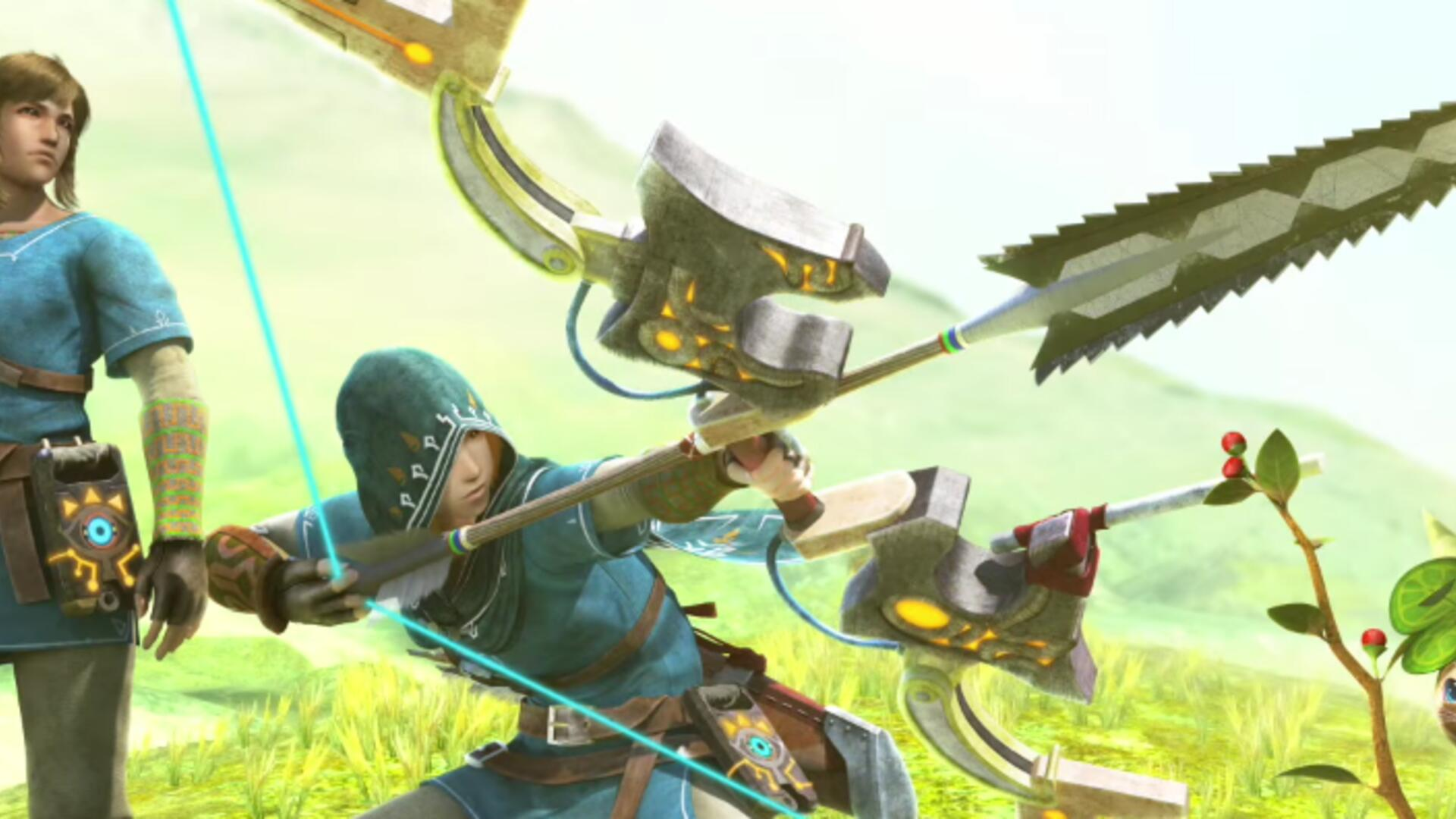 Monster Hunter Generations Ultimate Getting Weapons and Armor from Zelda: Breath of the Wild in August