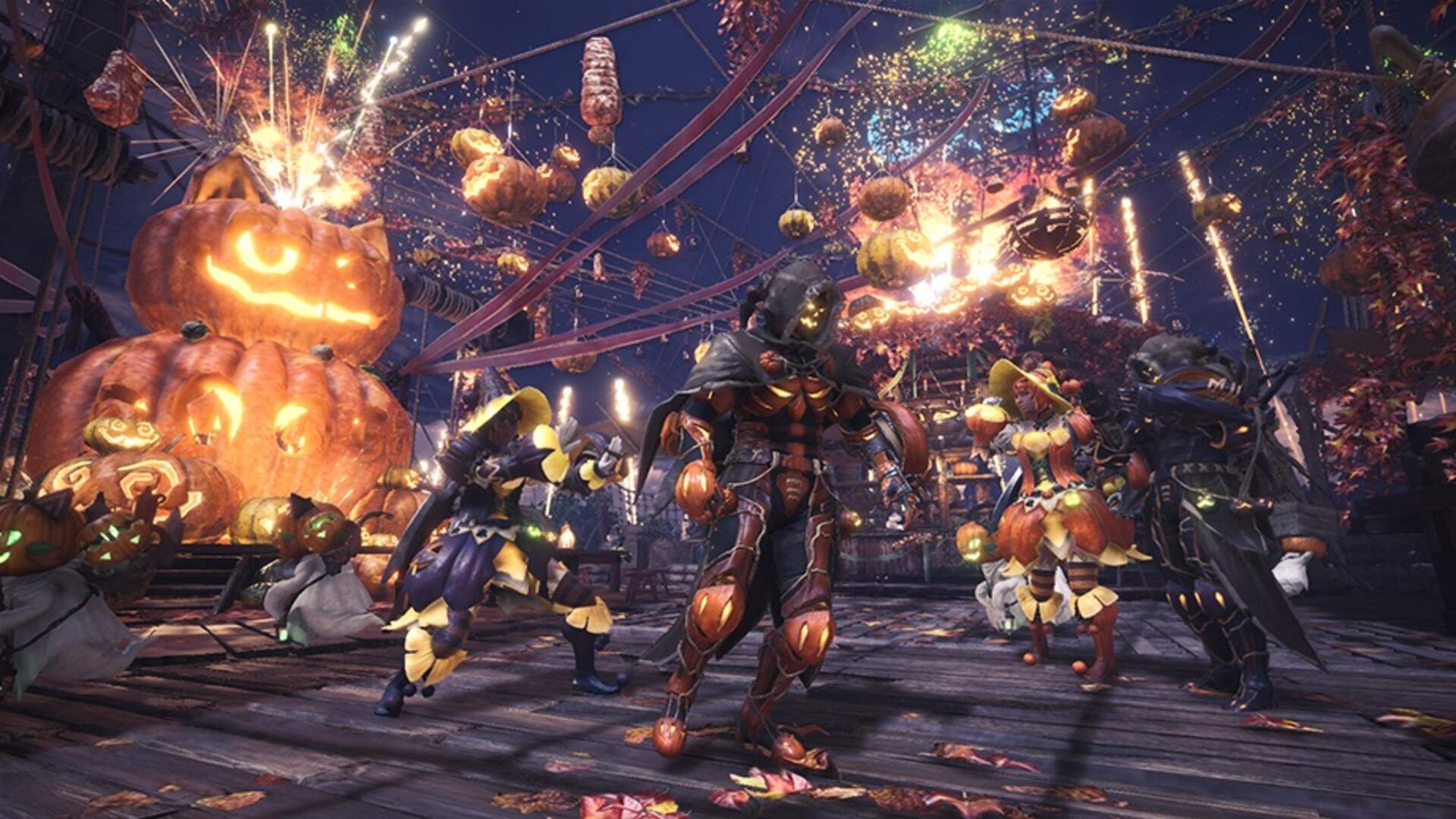 Monster Hunter: World Celebrates the Autumn Harvest Festival With Spooky Gear and Special Bounties