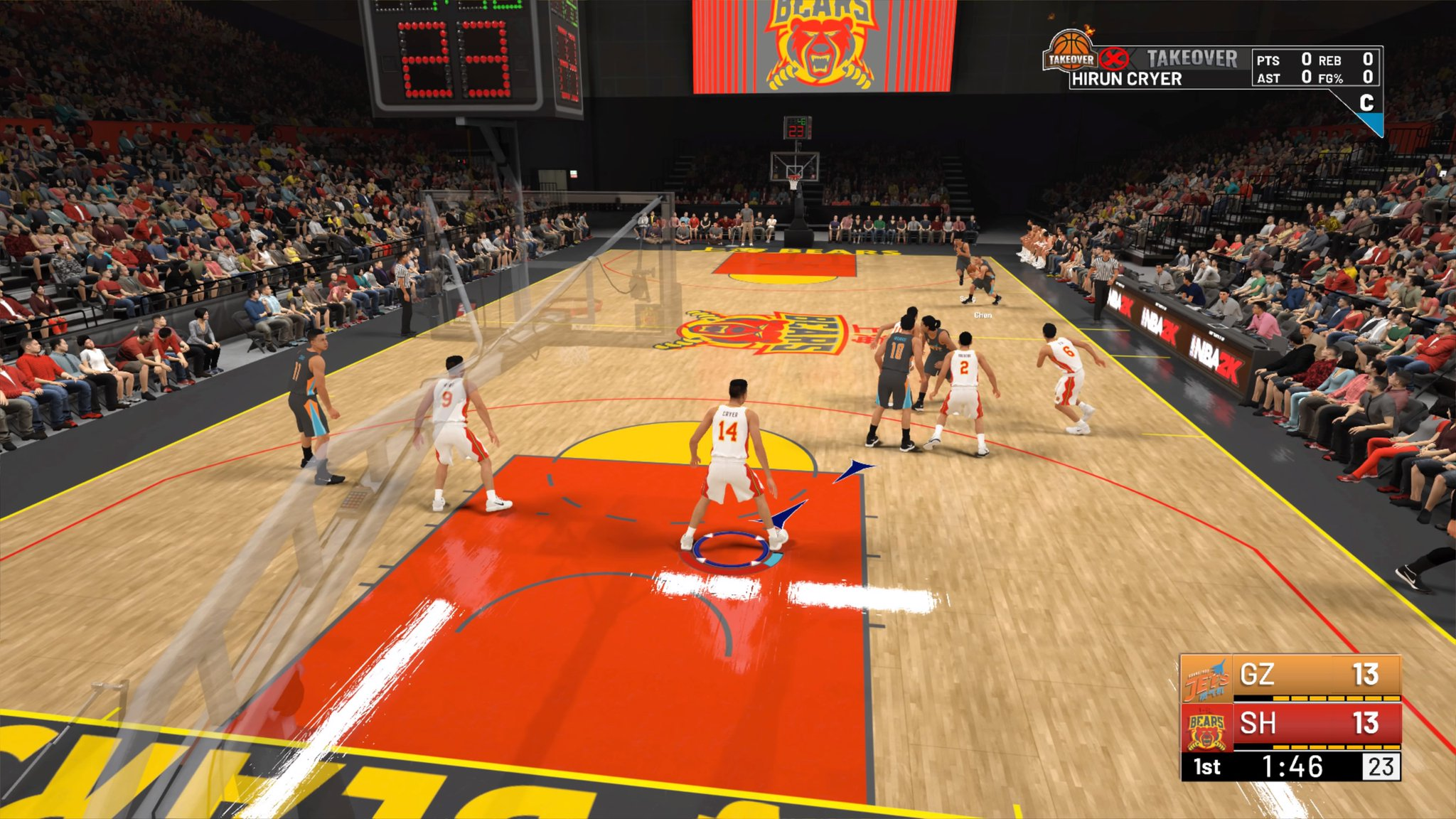 NBA 2K19's The Prelude Tackles the Chinese Basketball League
