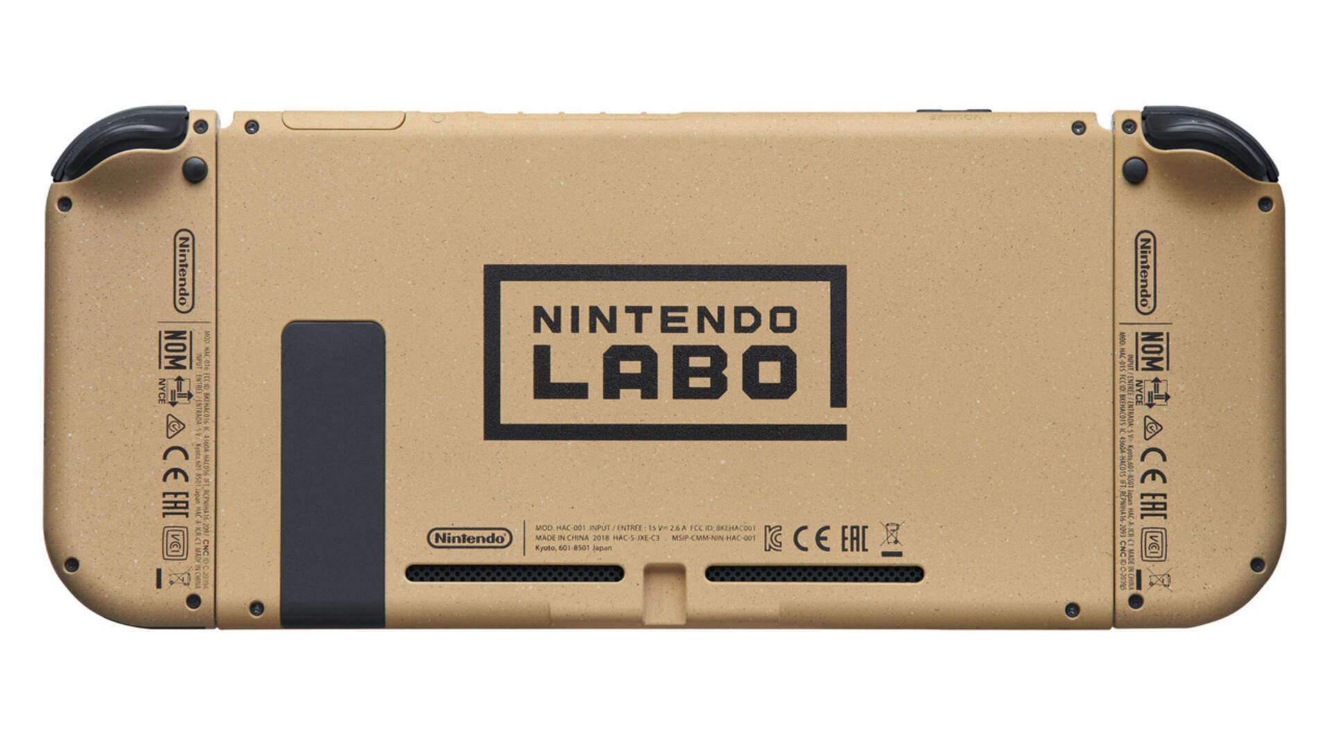 Nintendo Labo-themed Switch is a Thing of Beauty
