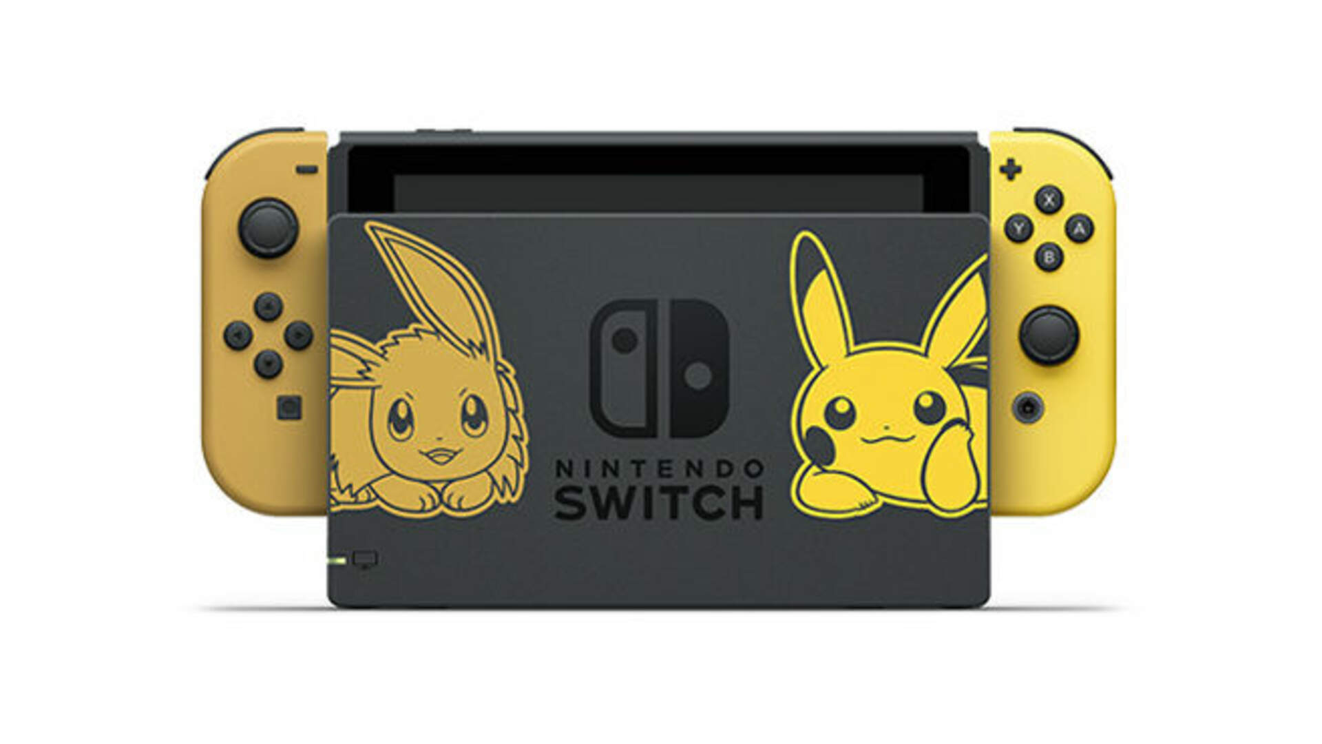 The Pokemon Let's Go Nintendo Switch is Cuter than a Basket of Growlithe Puppies