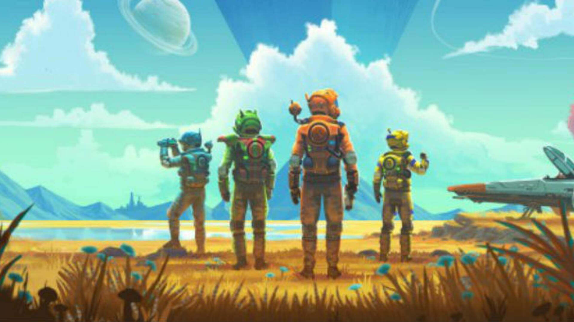 No Man's Sky Next on GOG Won't Get Multiplayer Until Later This Year