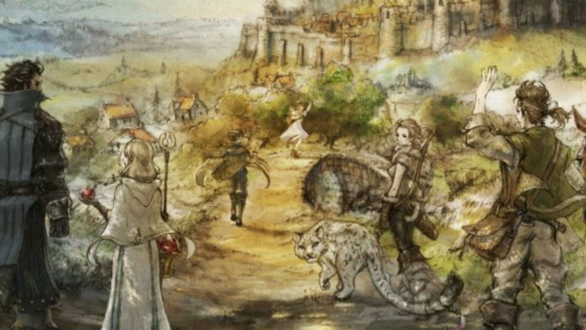 How Octopath Traveler Uses Unreal Engine 4 to Blend Old and New School Graphics