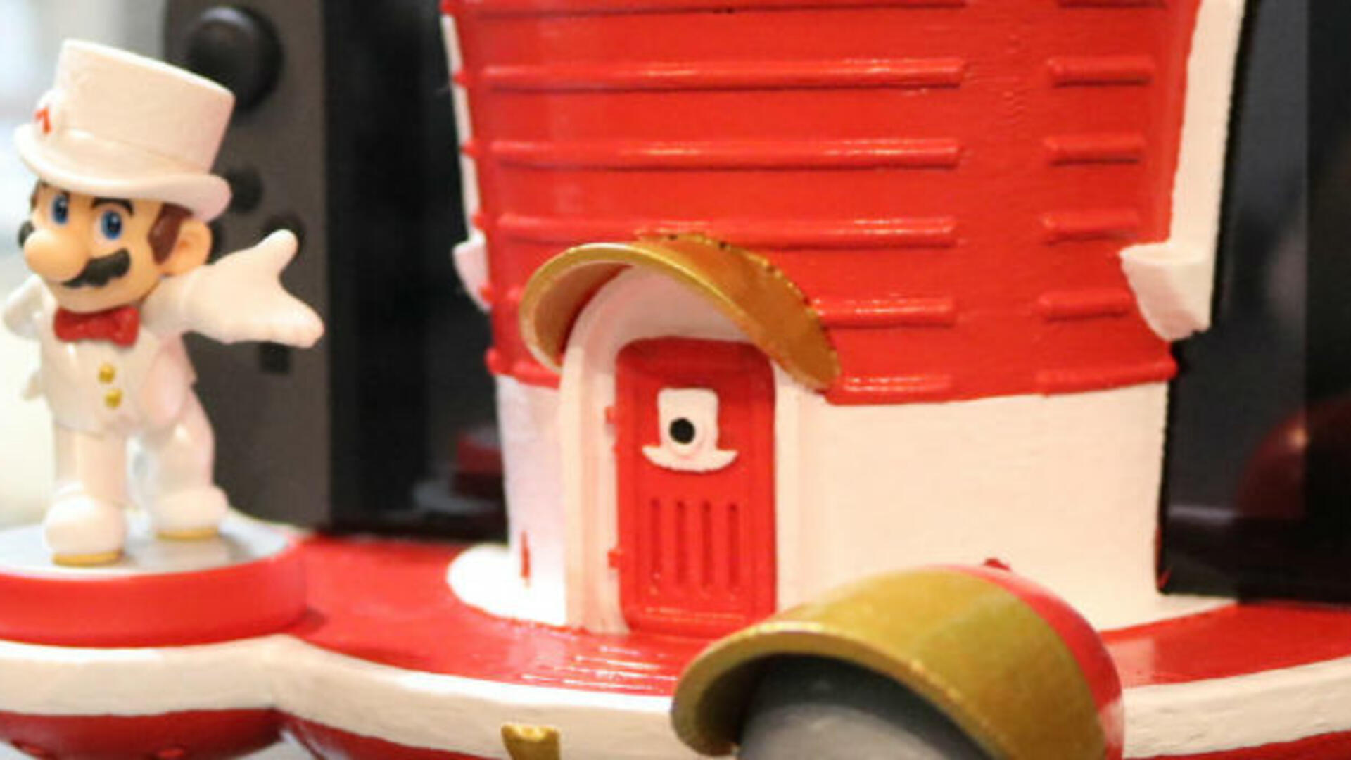 Take Your Nintendo Switch to New Heights with This Super Mario Odyssey Dock