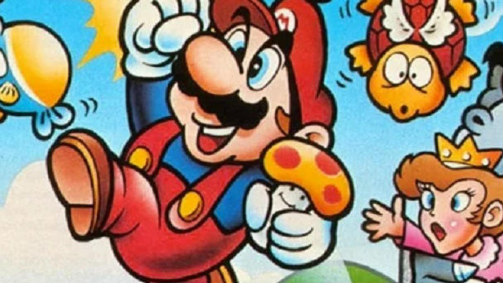 """The """"Peachette"""" Controversy Reminds Me How Dark the Instruction Booklet for Super Mario Bros Is"""