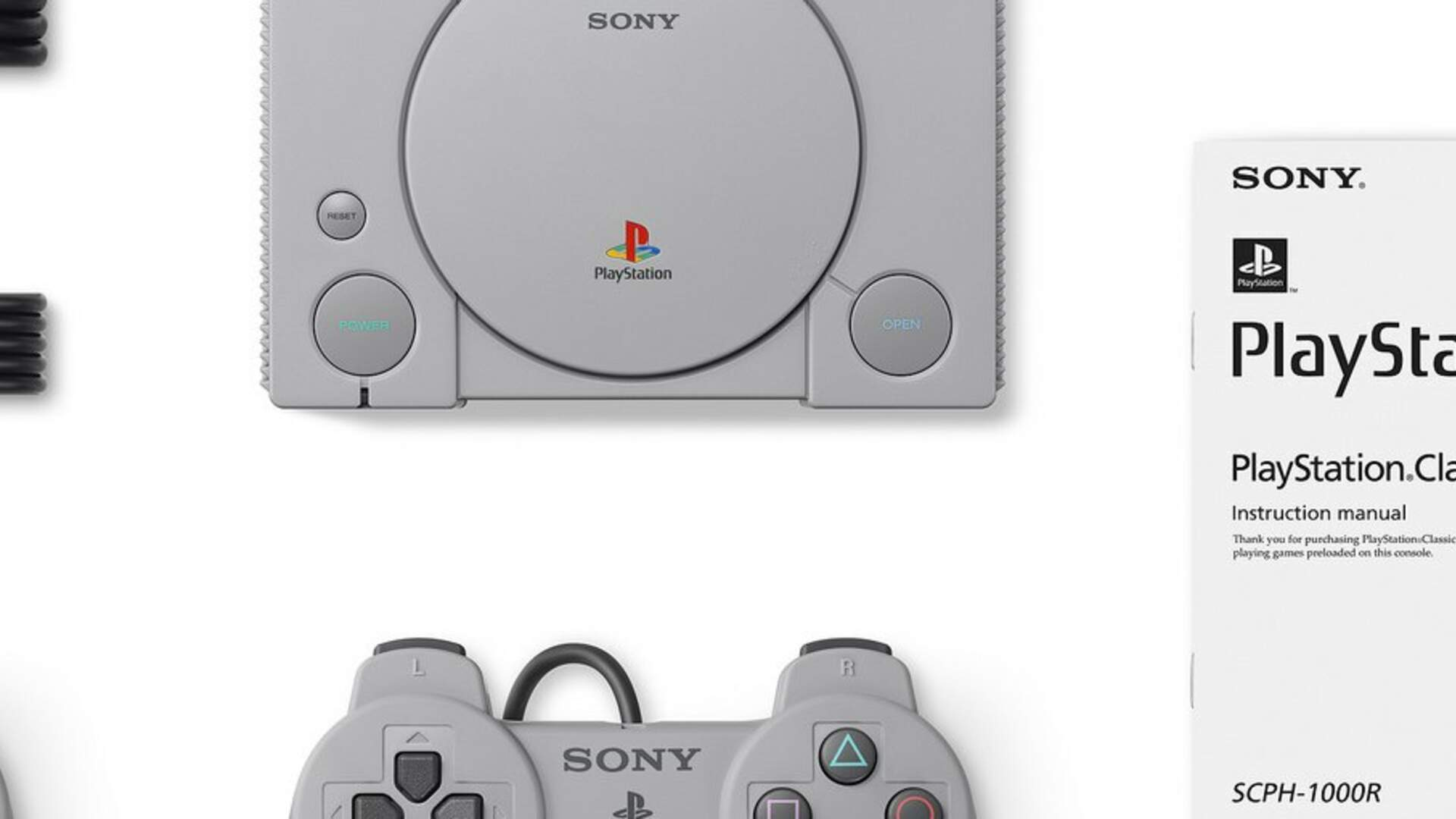 PlayStation Classic Uses an Open-Source Emulator to Play Games