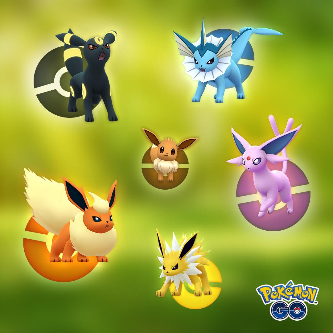Best Eevee Evolution Pokemon Go 2019 Pokemon Go Eevee   Evolving Eevee into Glaceon and Leafeon | USgamer